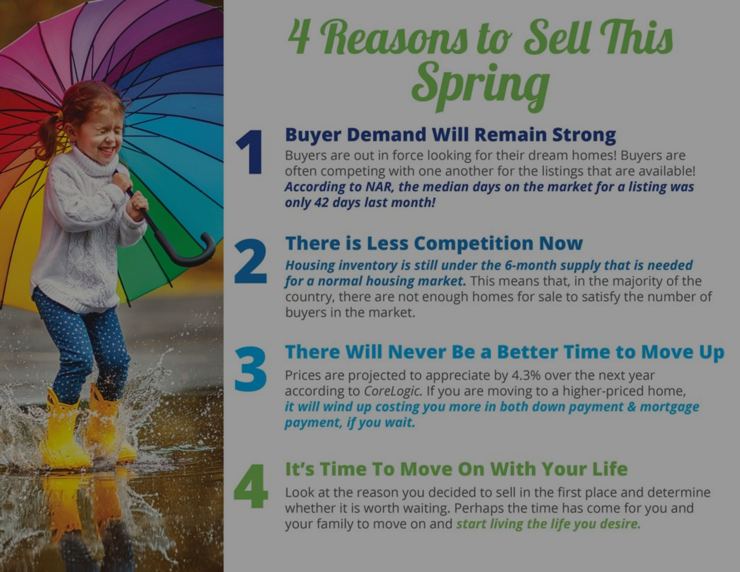 4 Reasons to Sell This Spring