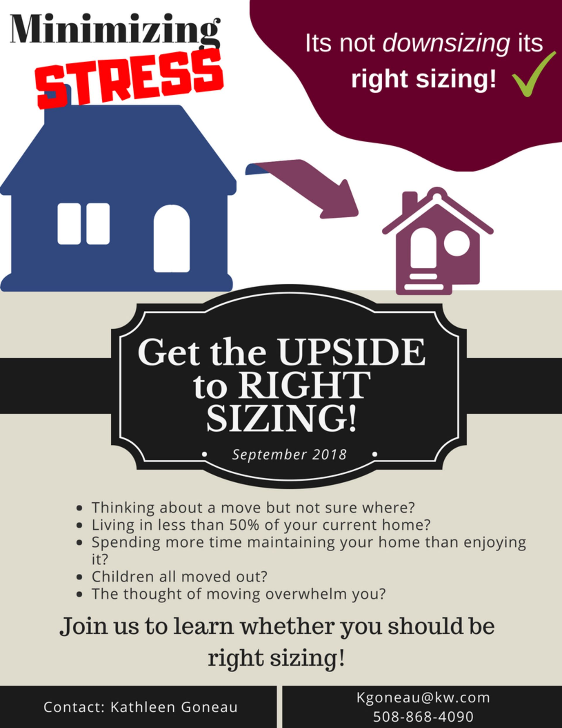 11 Steps To Right Sizing Your Home