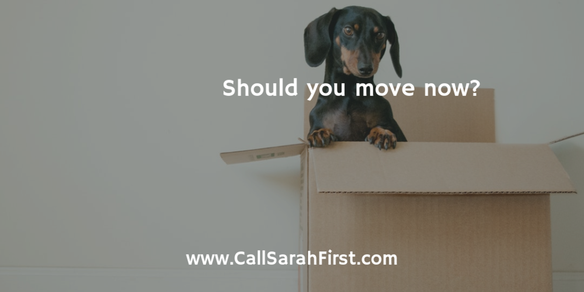 Should you move right now?