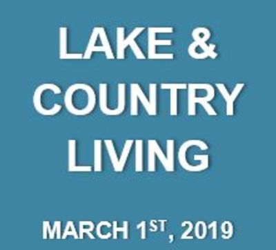 Lake & Country Living: What's Happening at the Lake…March 1st