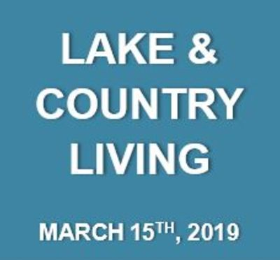 Lake & Country Living: What's Happening at the Lake…March 15th
