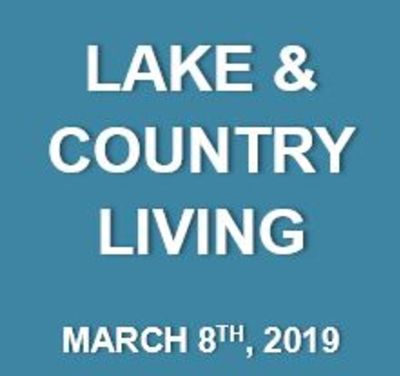 Lake & Country Living: What's Happening at the Lake…March 8th