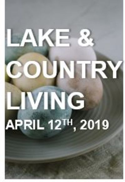 Lake & Country Living: What's Happening at the Lake…April 12th