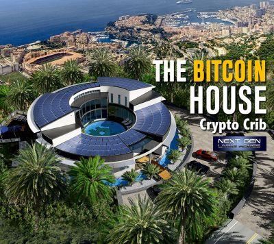 Real Estates Market presents the Bitcoin House