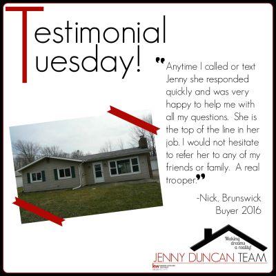 Testimonial Tuesday – Nick (Brunswick)