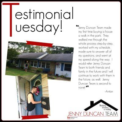Tuesday Testimonial – Anton