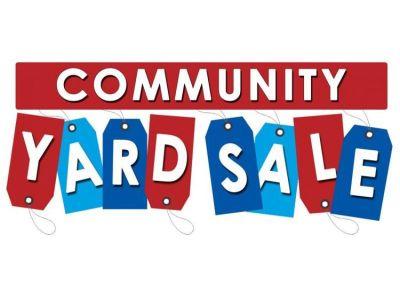 Community Yard Sale – Sat. May 5th