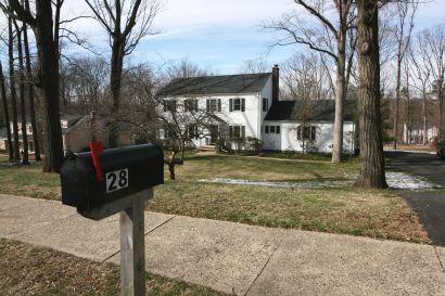 Price reduced on  Basking Ridge 4 bedroom Colonial on prime street