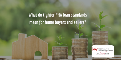 FHA is Tightening Loan Standards