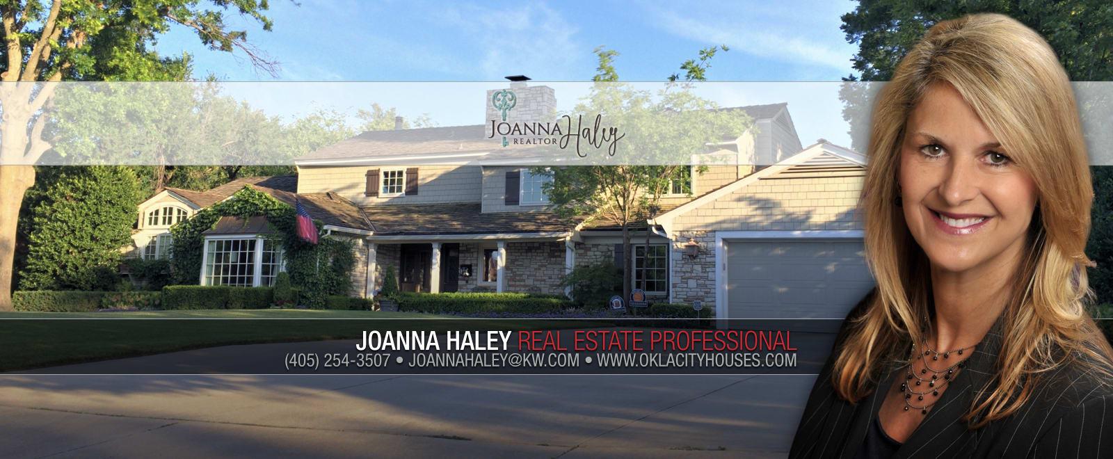 Auto Market Okc >> Contact Joanna - Joanna Haley, Real Estate Professional