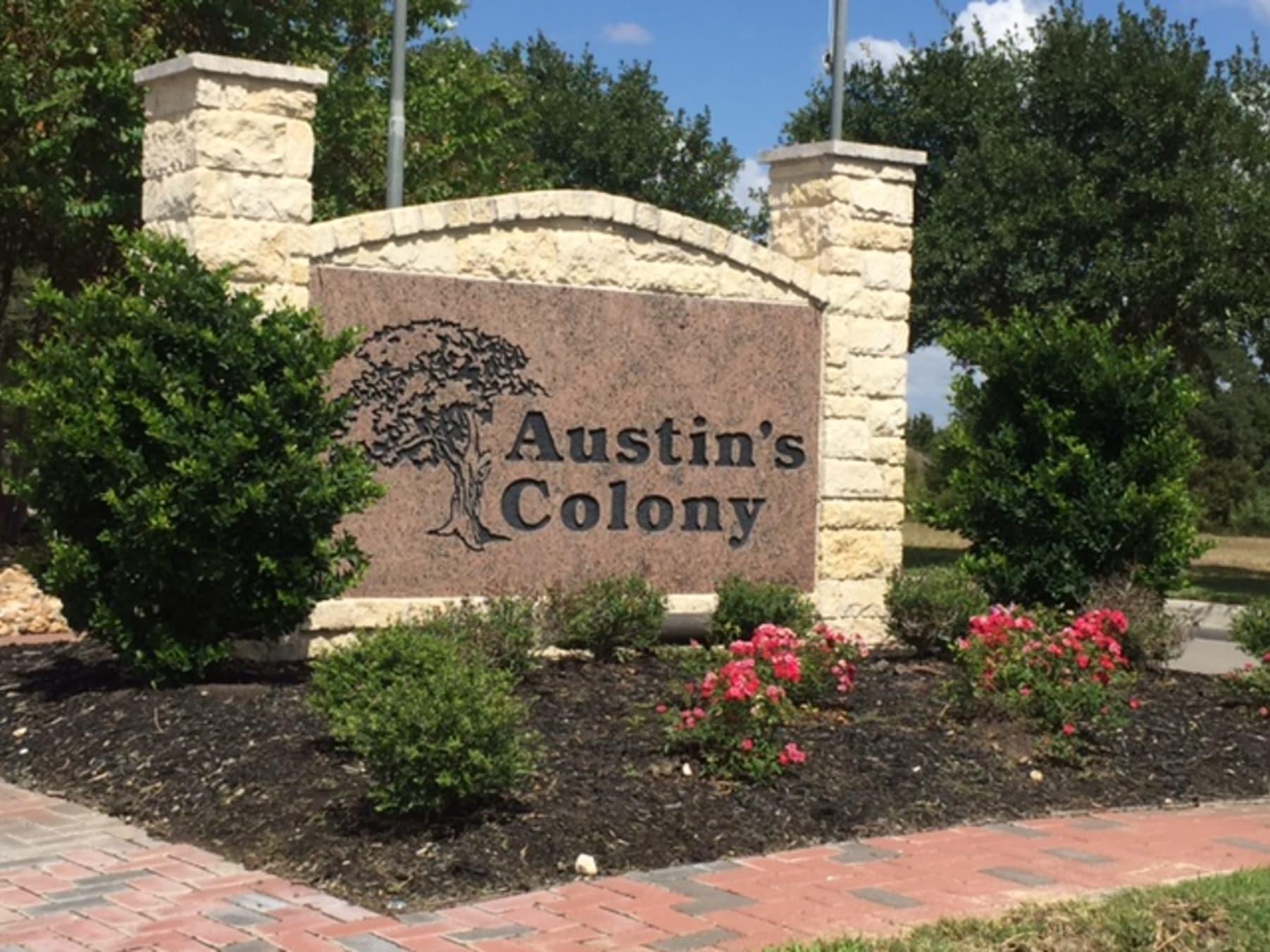 Austin\'s Colony Subdivision