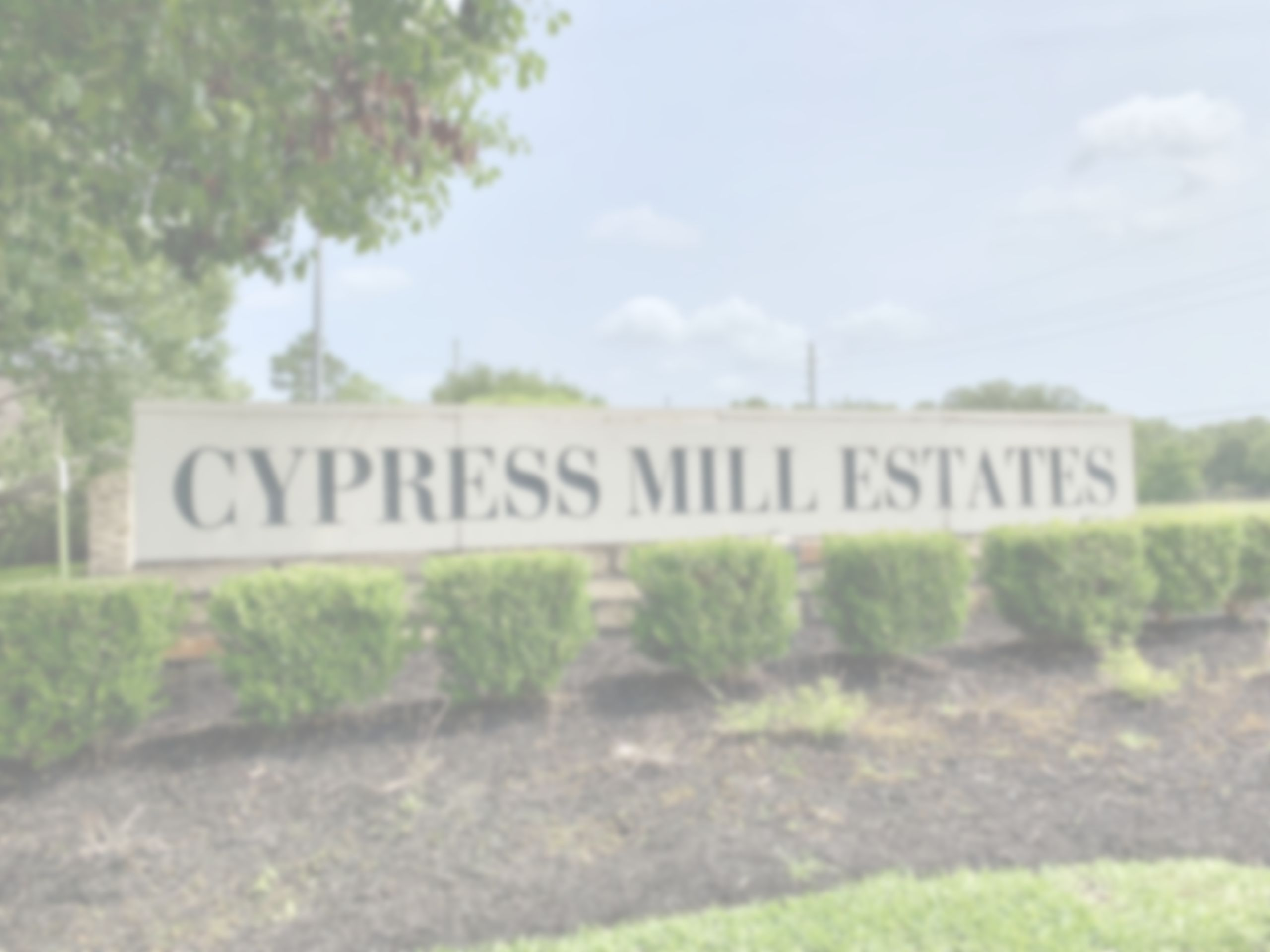 Cypress Mill Estates