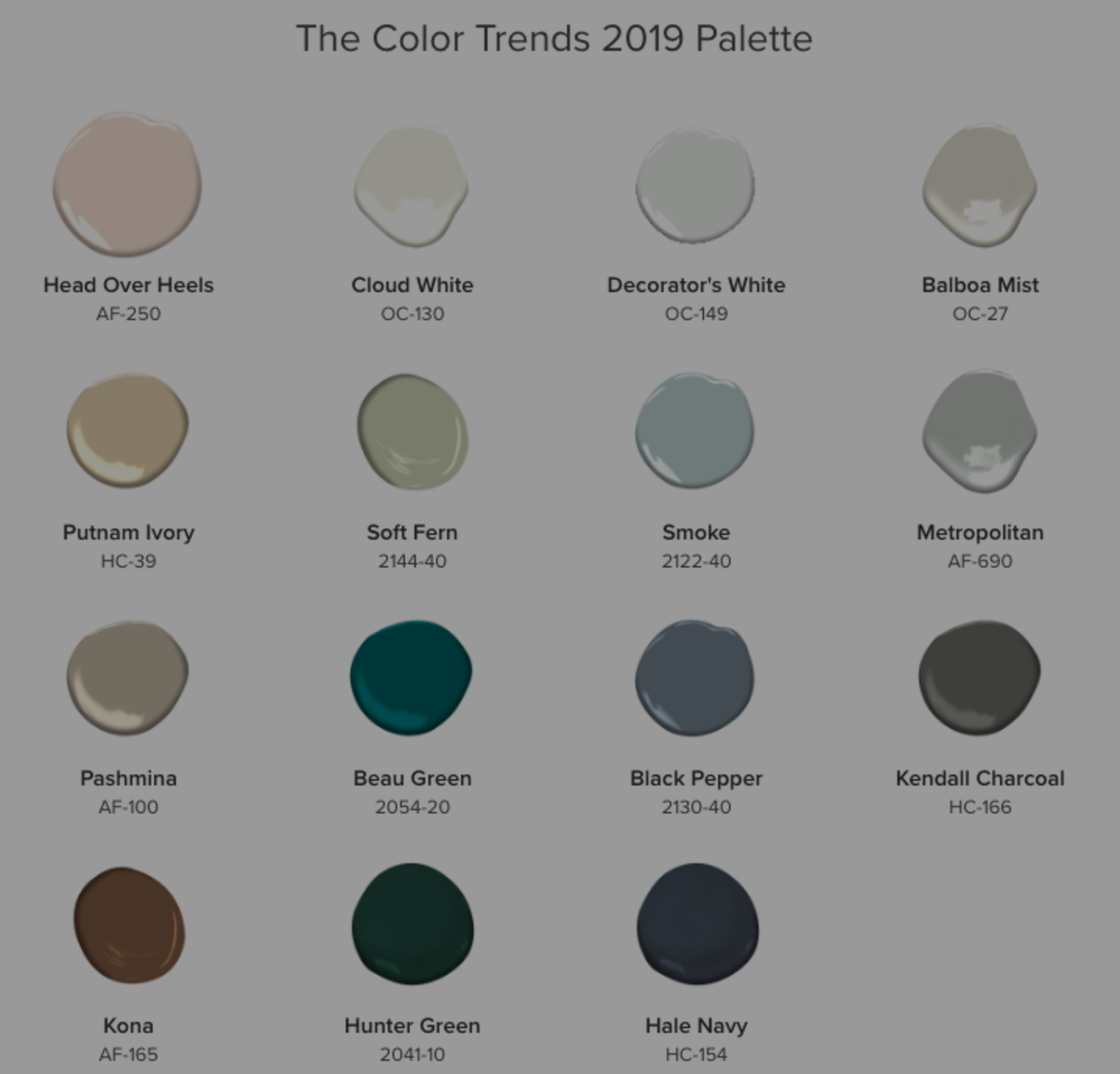 Benjamin Moore's 2019 Color of the Year – it's GORGEOUS!