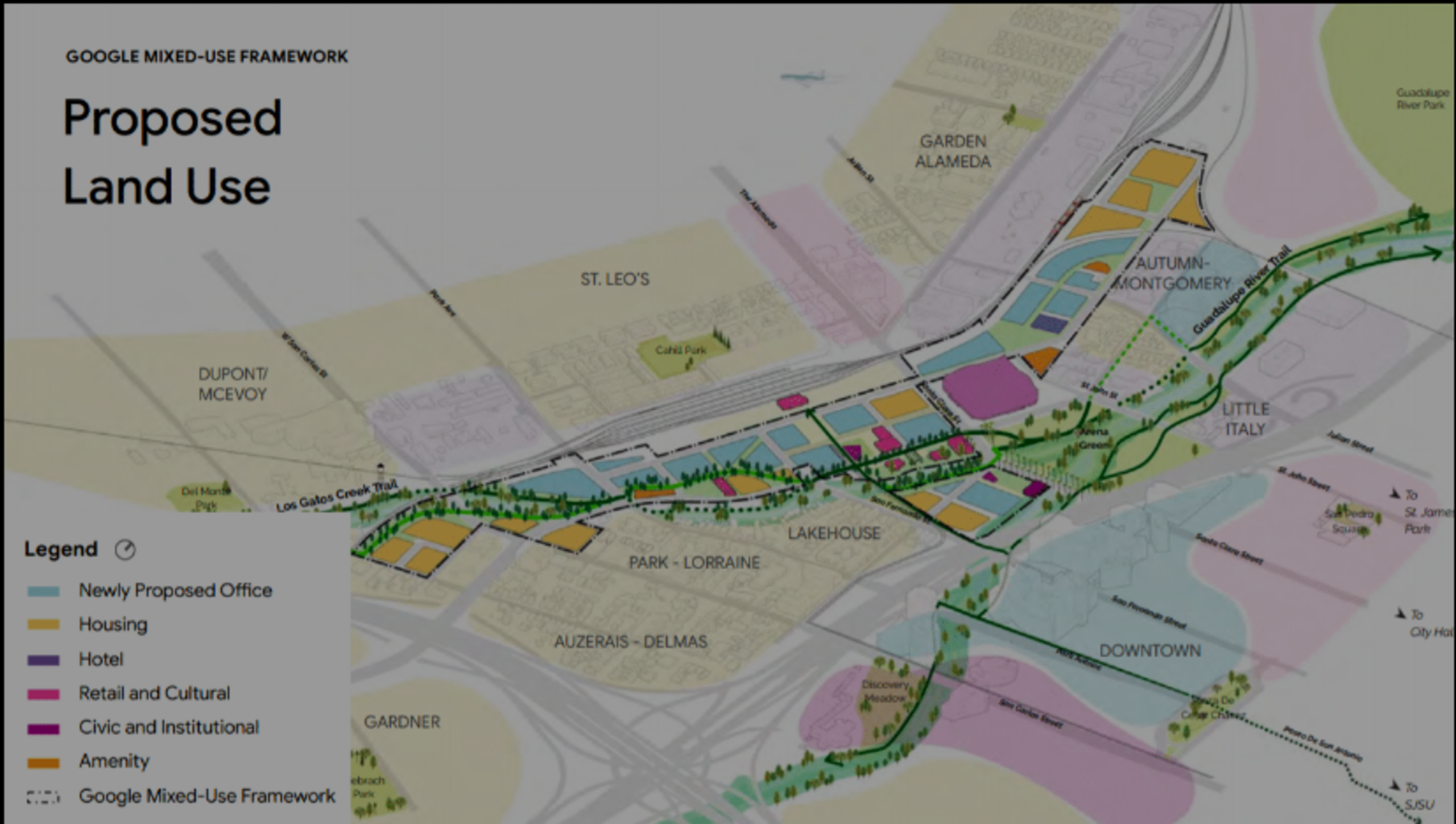 Google submits formal campus plan to San Jose