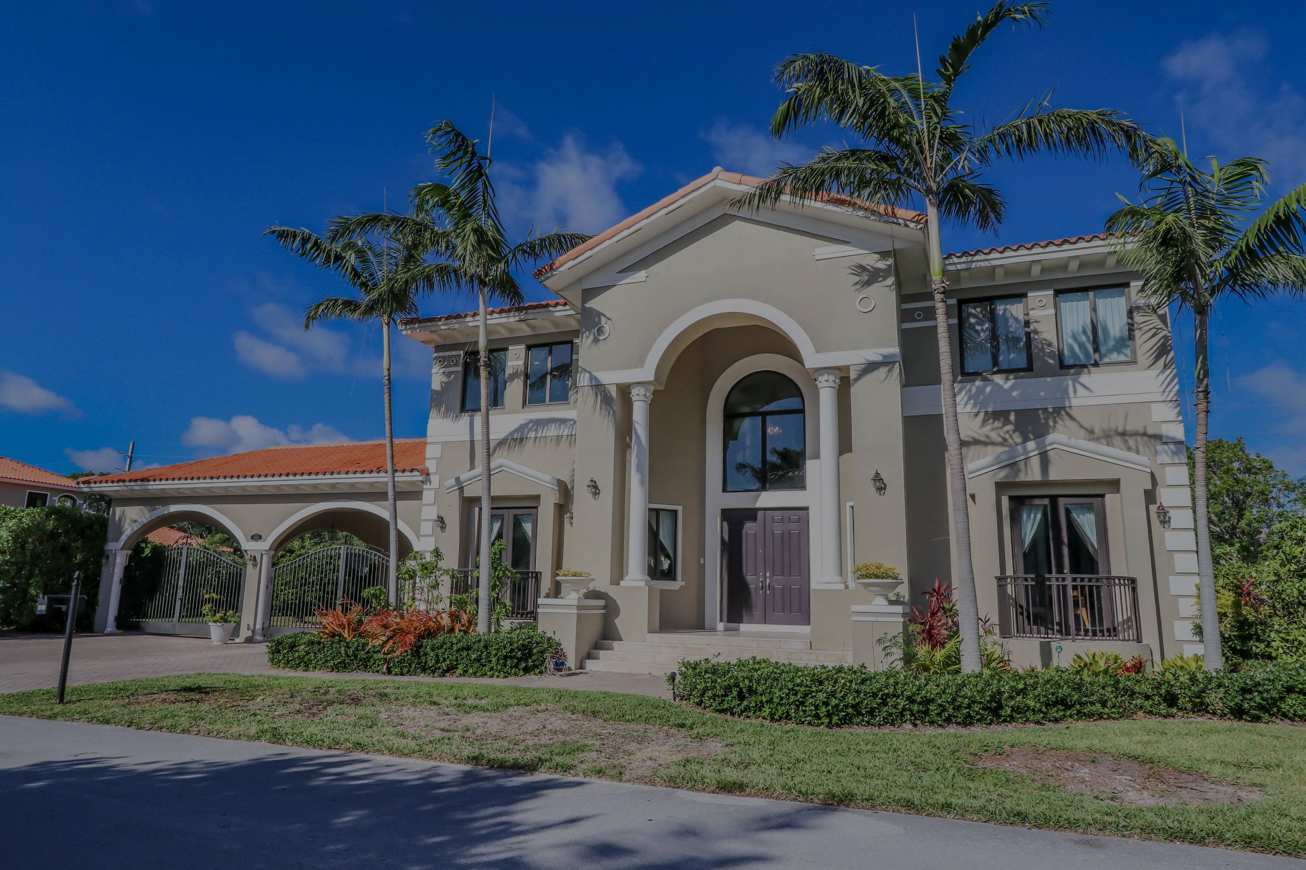 Gated Cutler Cay Mansion for Sale
