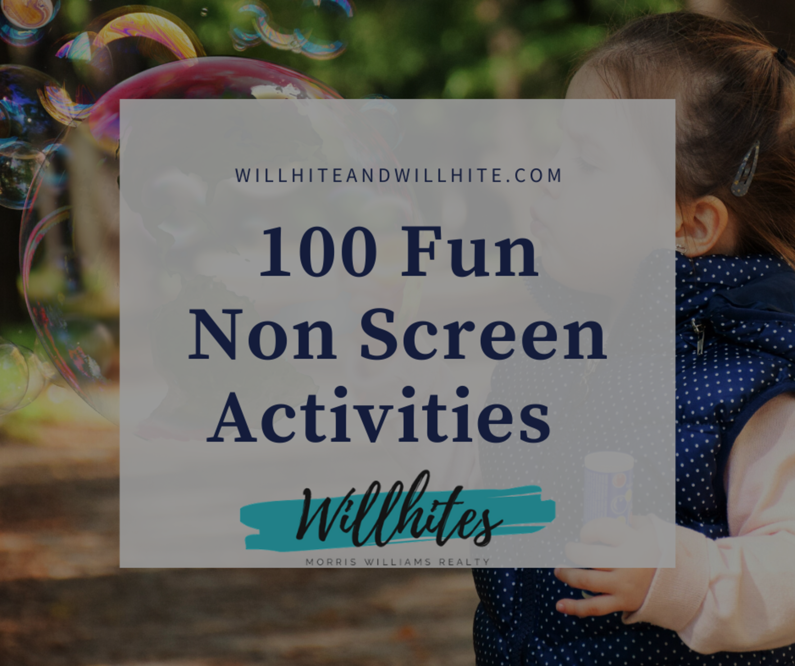 100 Non Screen Ideas For Your Kids During The Quarantine