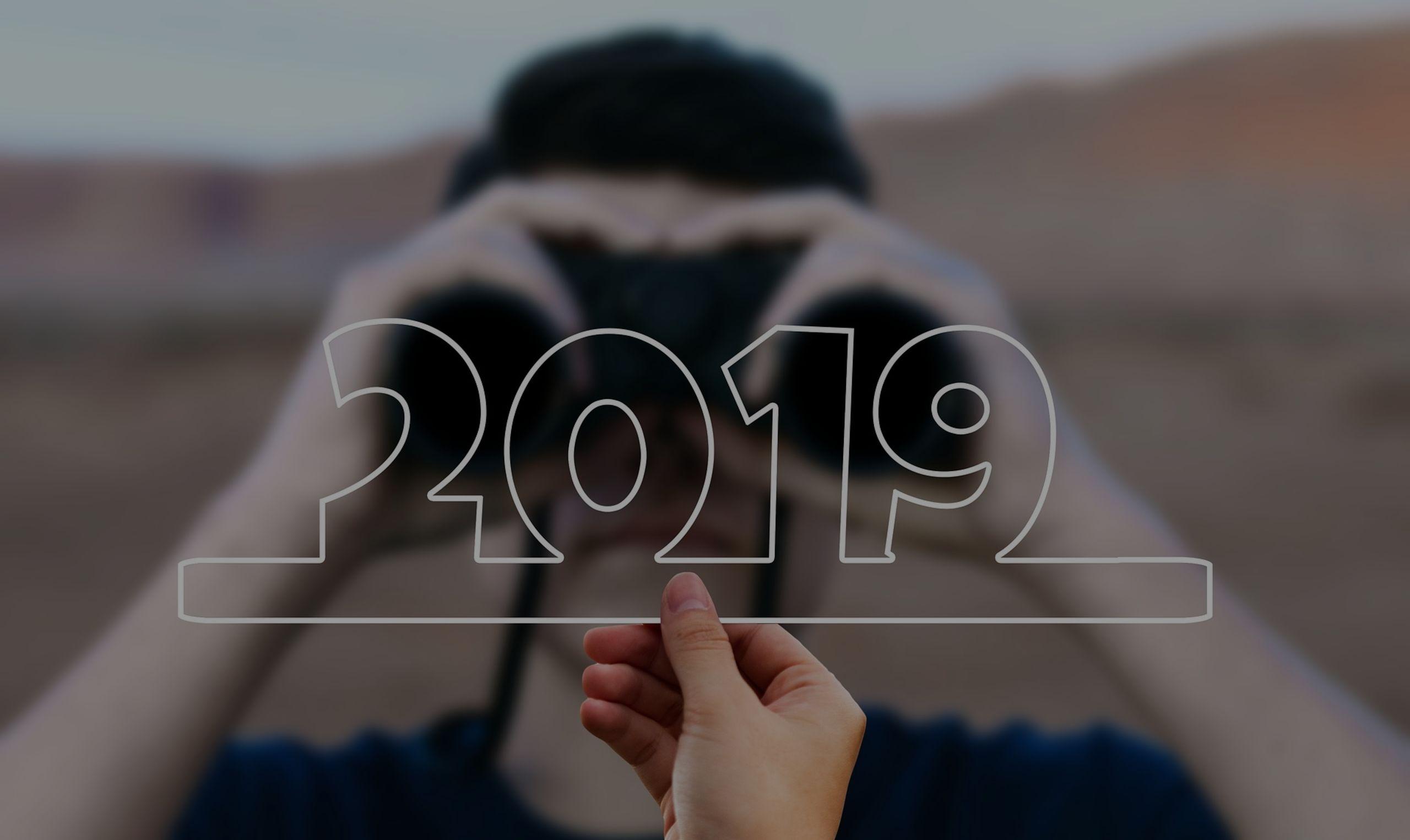 Parabéns! O 2019 acabou de começar