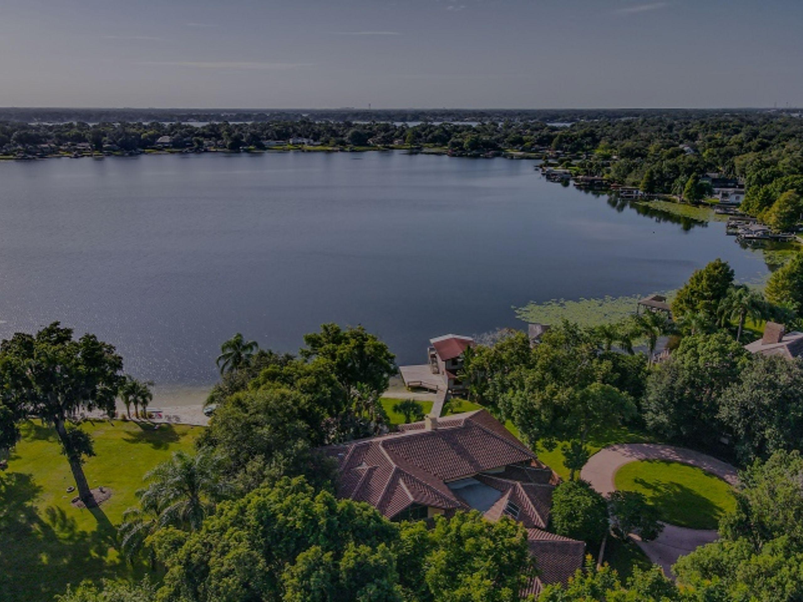 Remarkable Lakefront Estate in Orlando, FL