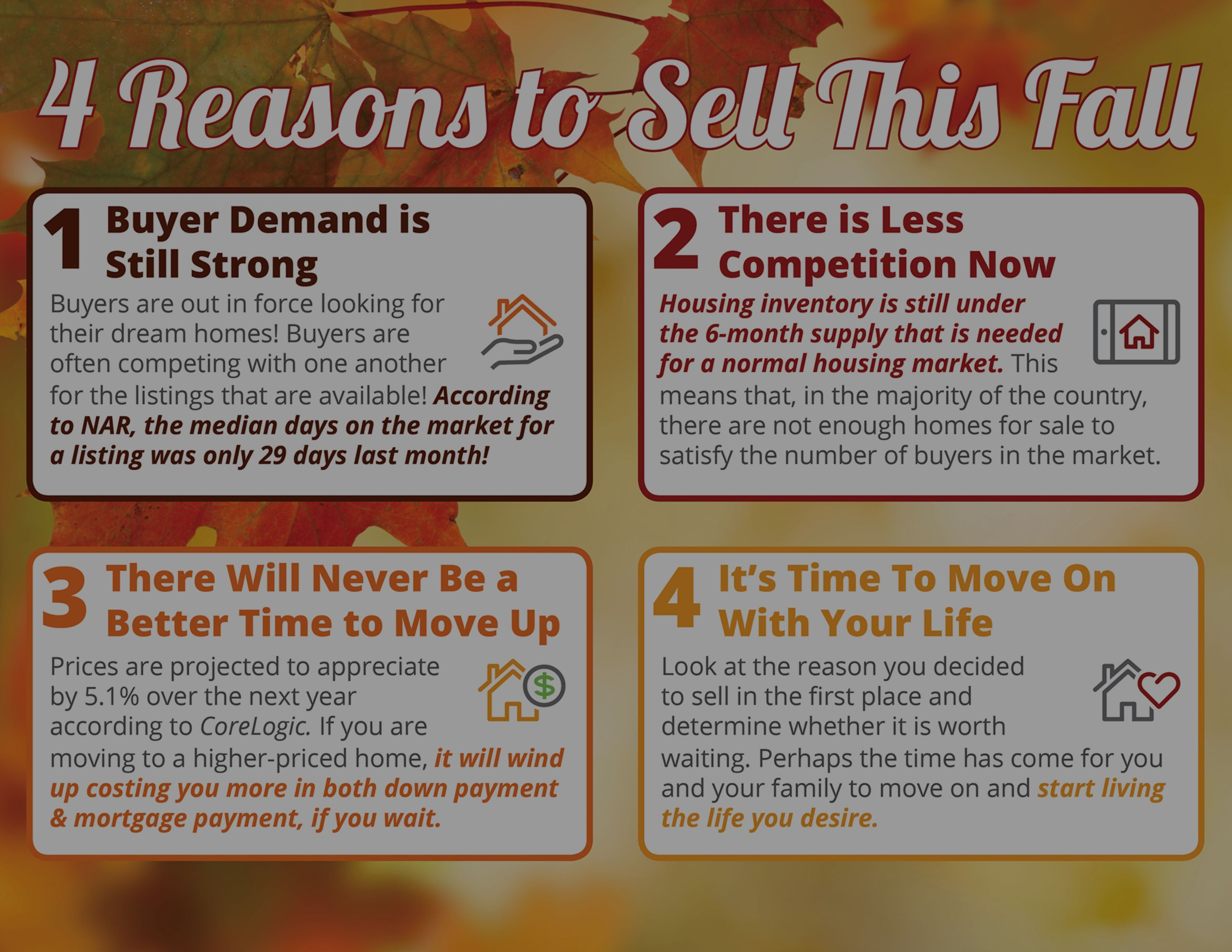 4 Reasons You Should Sell This Fall