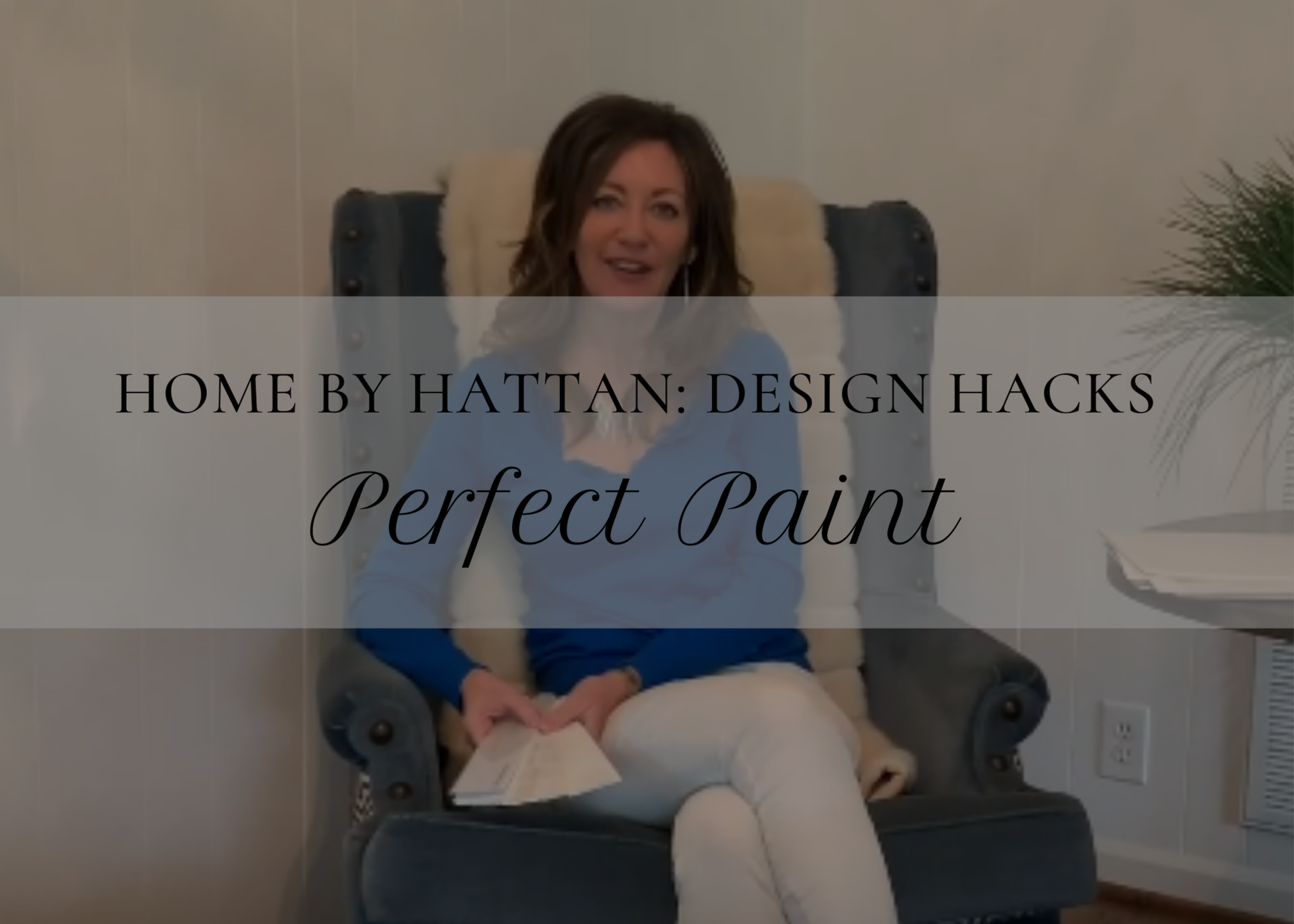 Picking the Perfect Paint