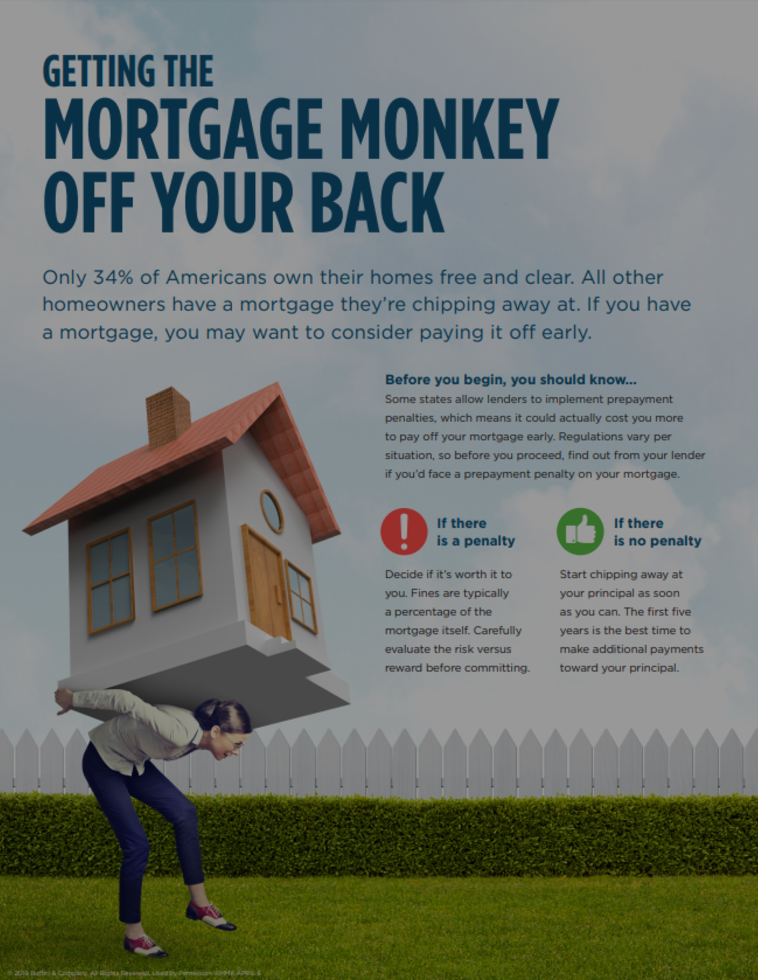 Getting The Mortgage Monkey Off Your Back