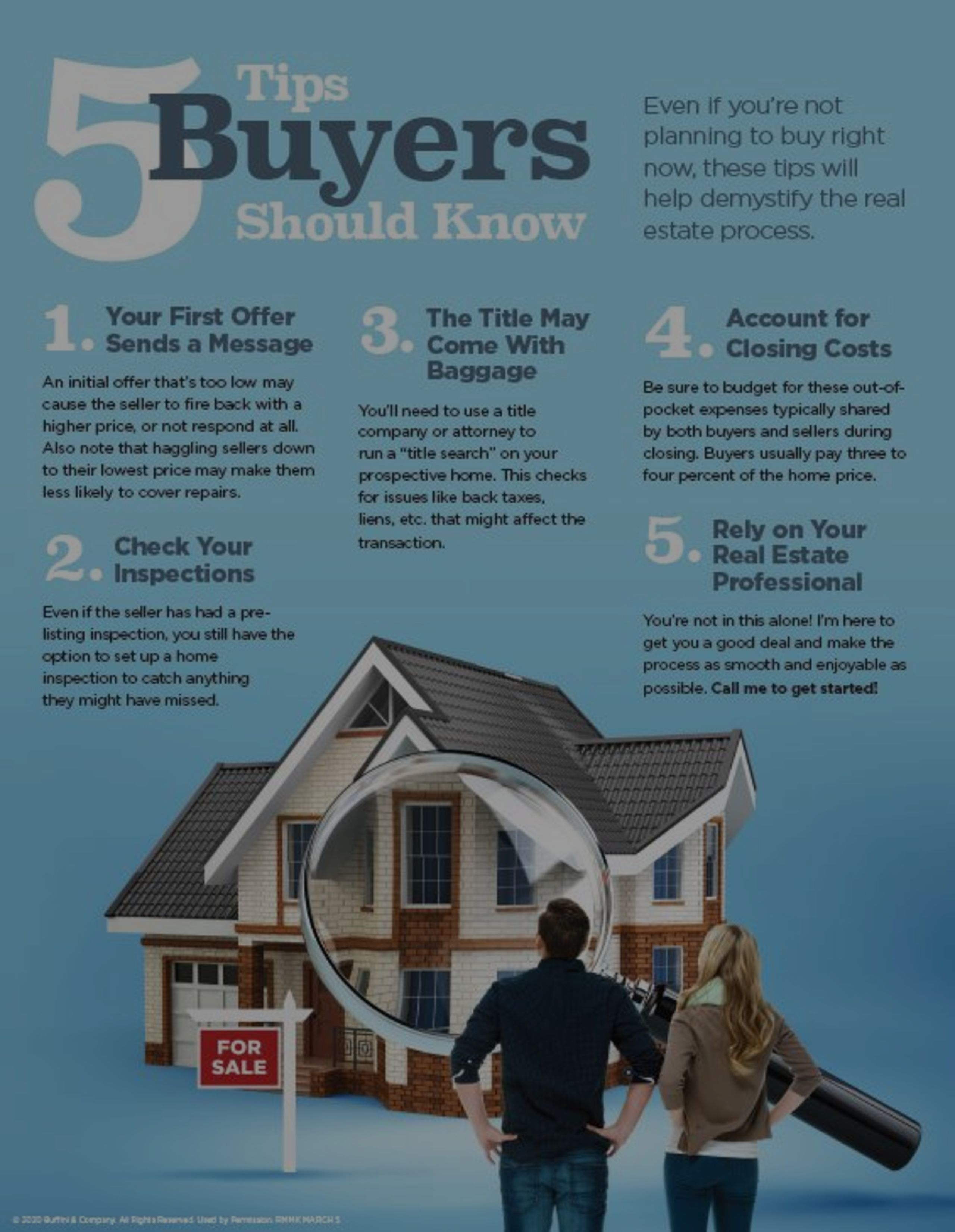 5 Tips Buyers Should Know