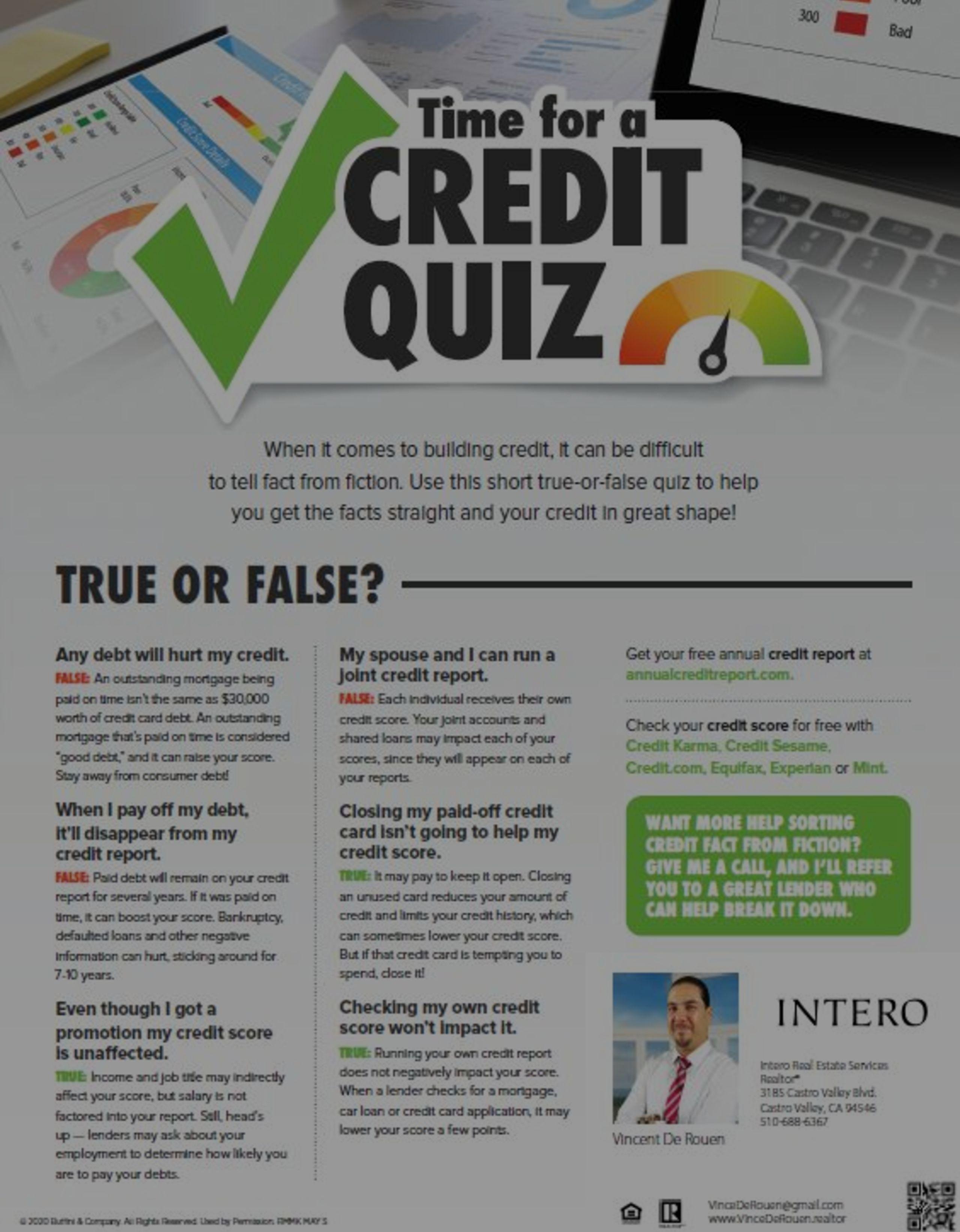 Credit Quiz