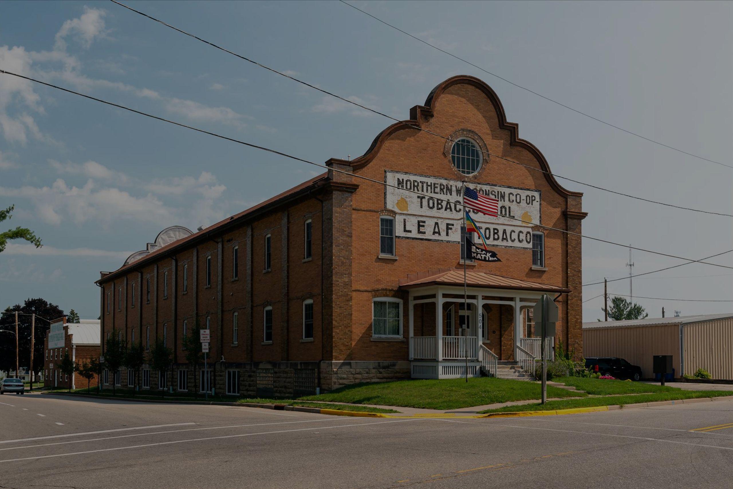 Northern WI Tobacco Building