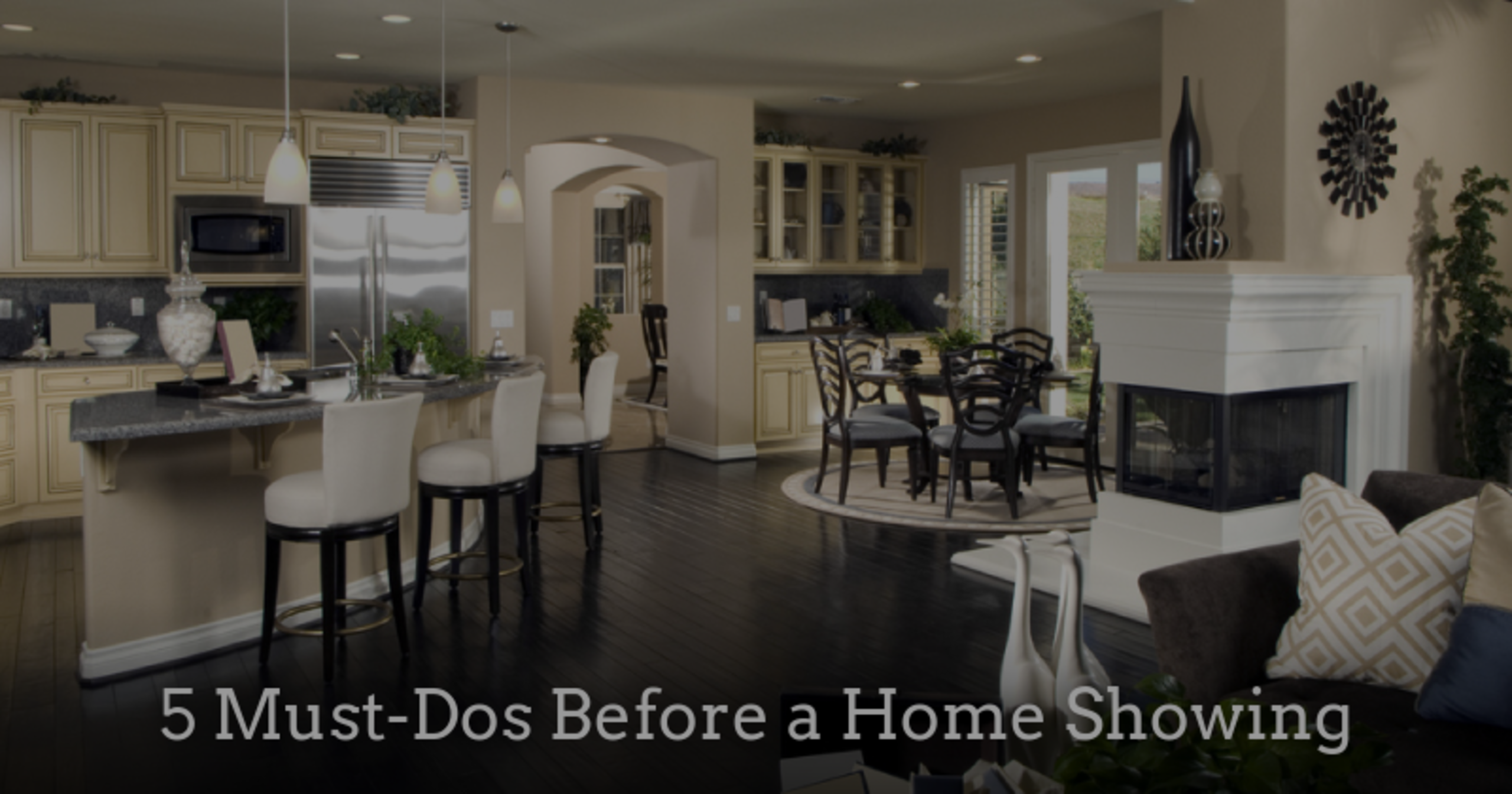 5 Must-Dos Before a Home Showing
