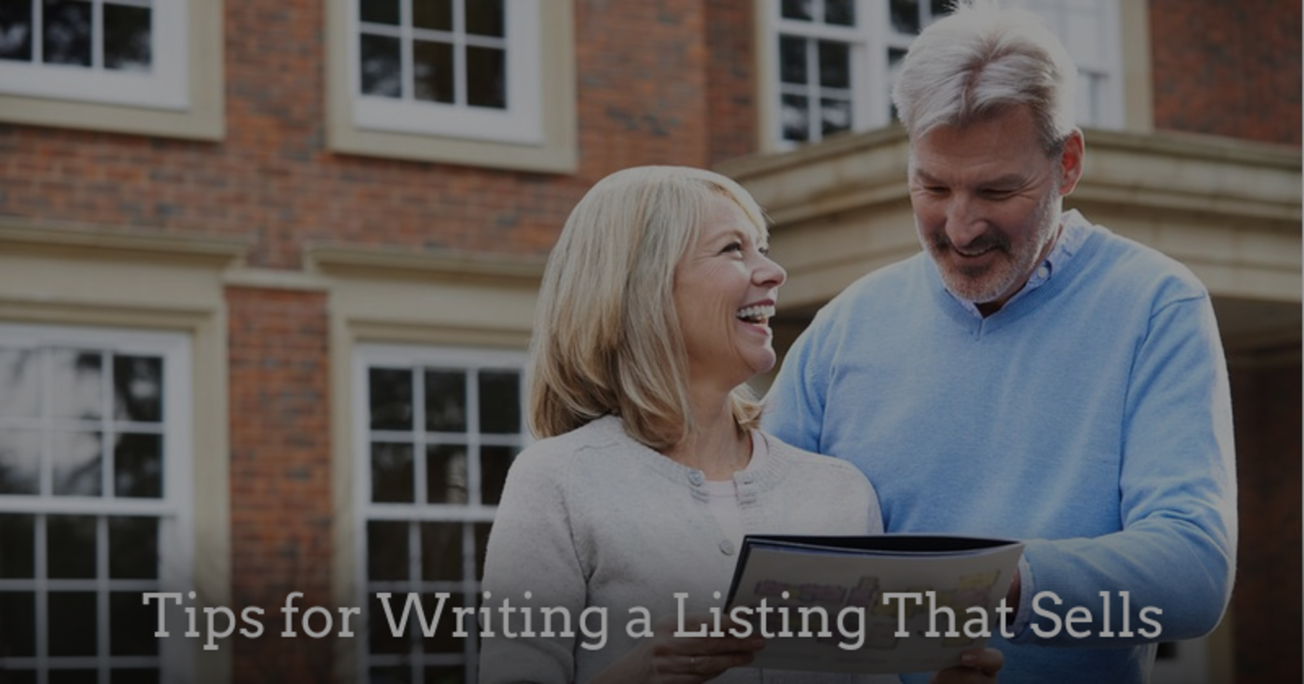 Tips for Writing a Listing That Sells