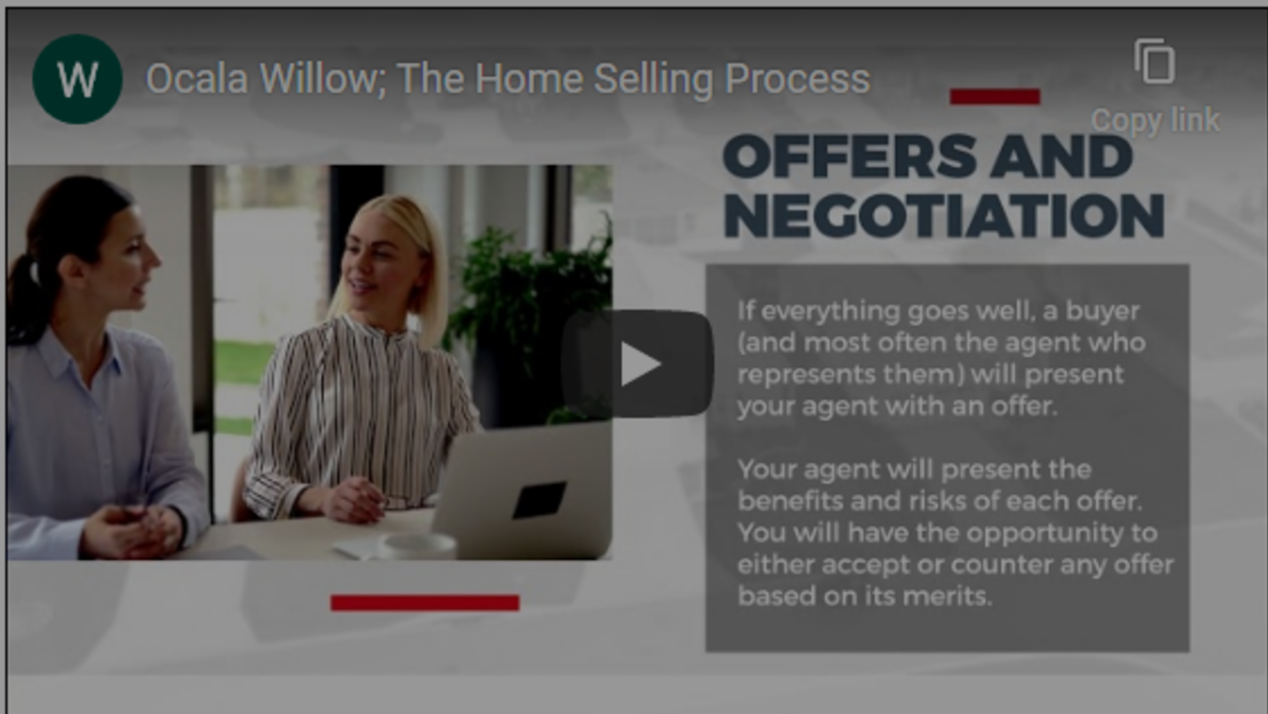What To Expect When Selling; The Process of Selling Real Estate