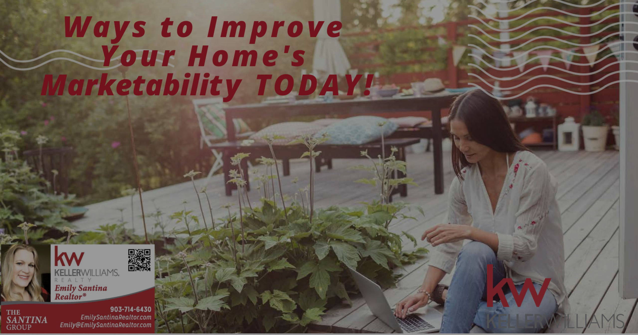 Ways to Improve Your Home's Marketablity TODAY