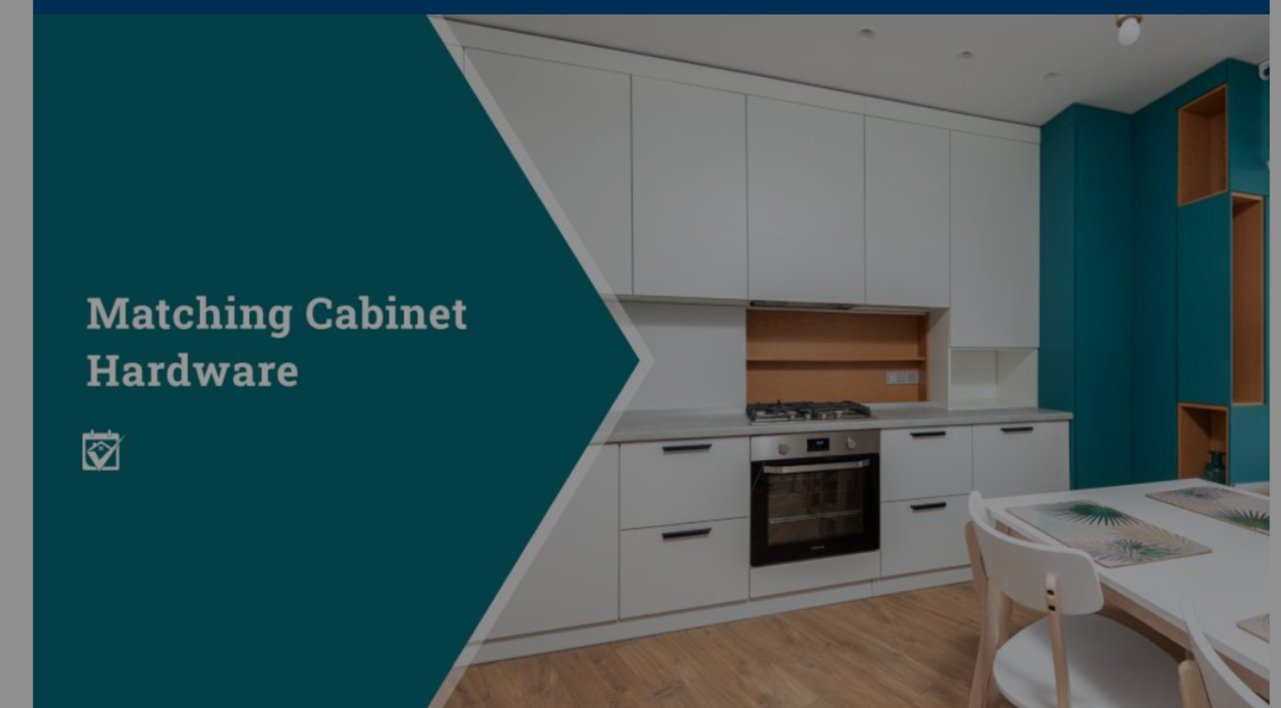 Matching Cabinet Hardware