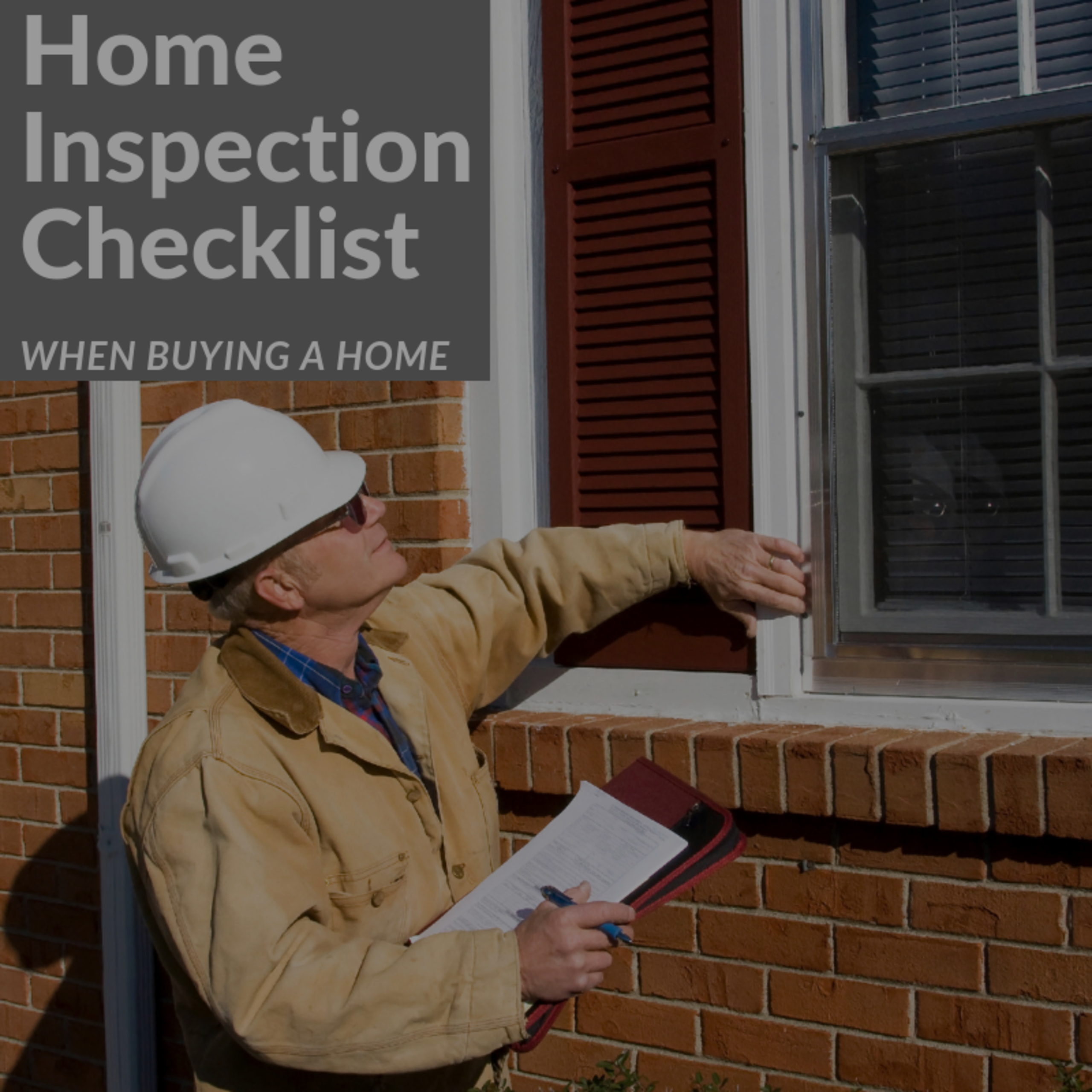 Home Inspection Checklist When Buying A House
