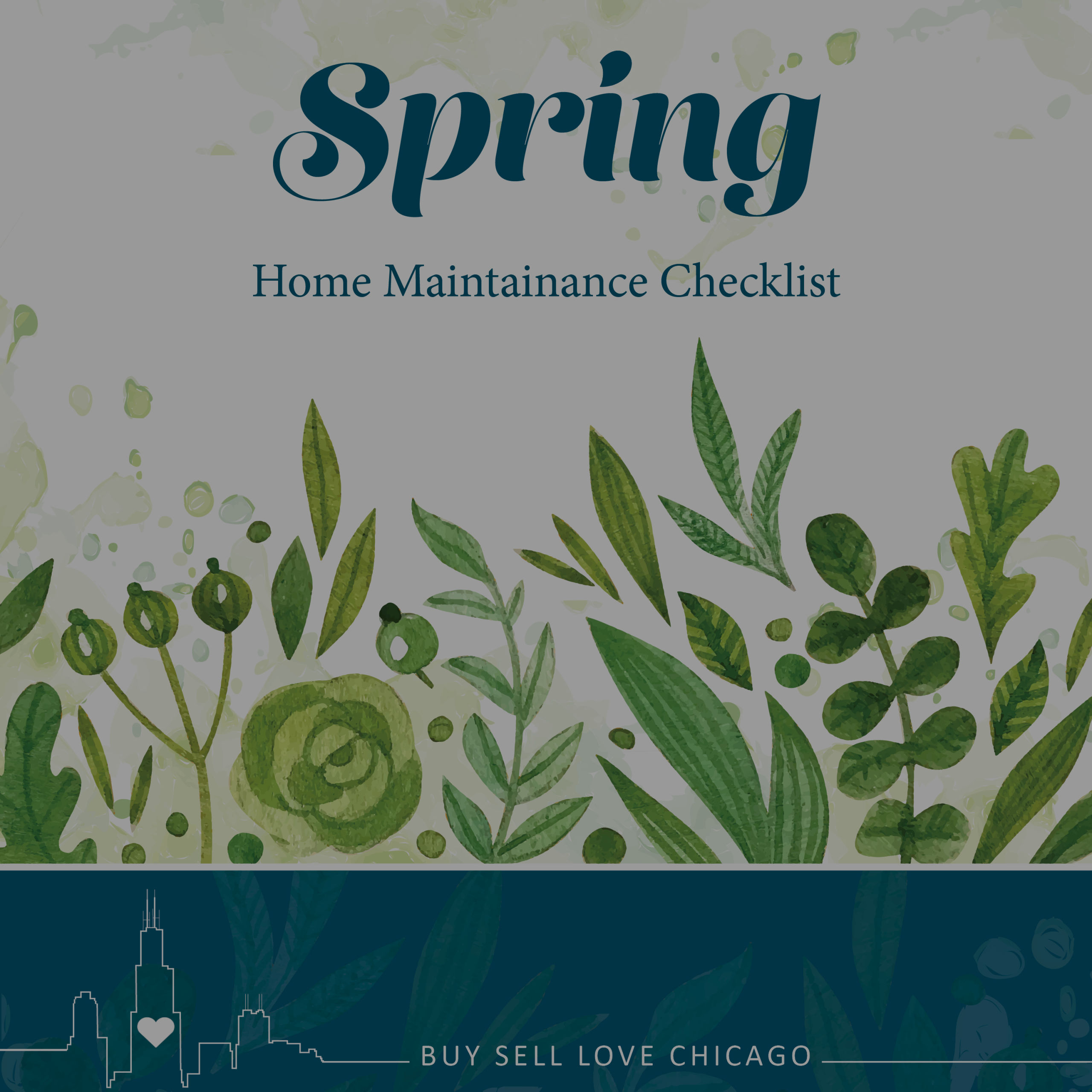 Spring Maintenance Check-list