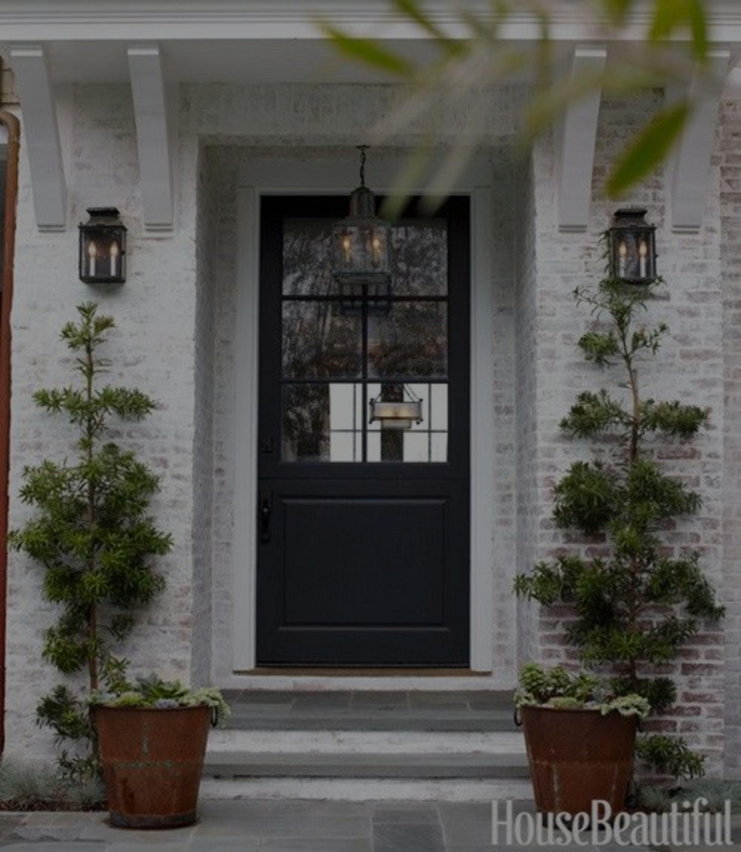 Consider Painting Your Front Door Black