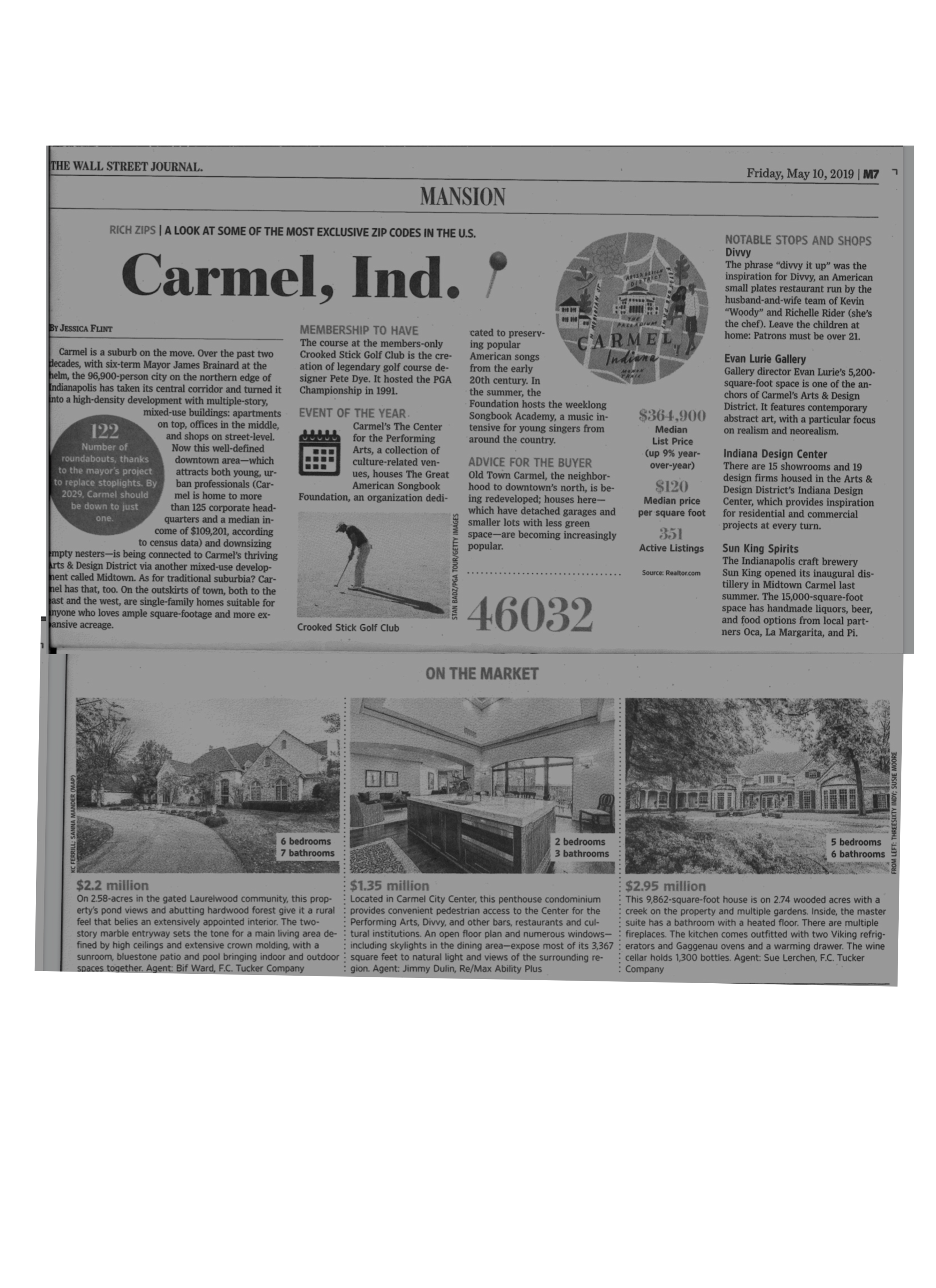 Lerchen & Associates | Featured Listing in WSJ