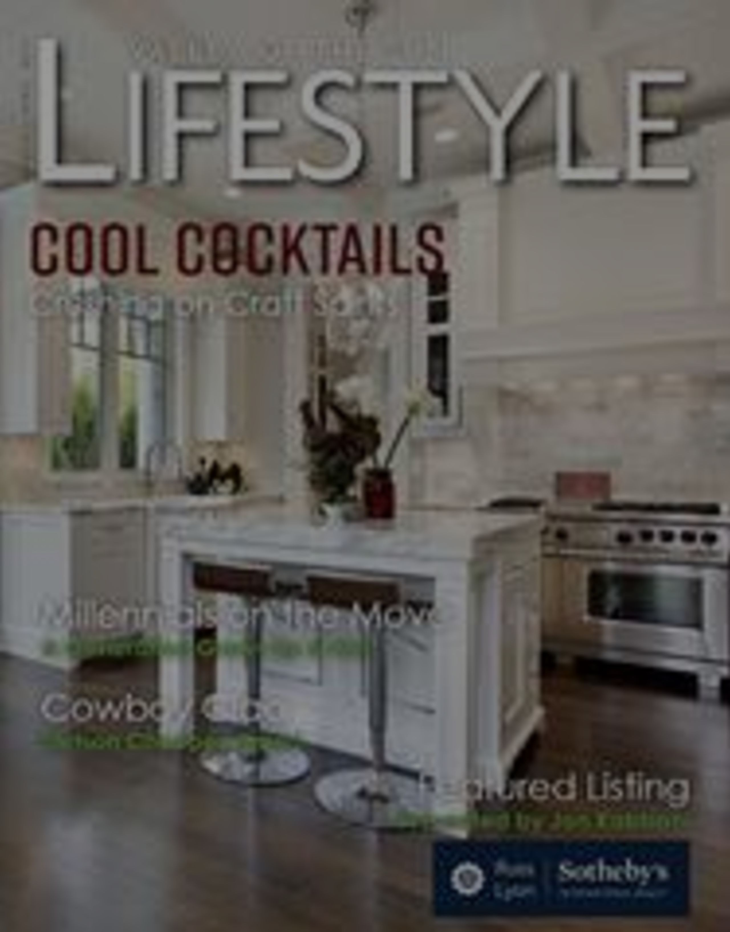 Lifestyle Newsletter Cool Cocktails