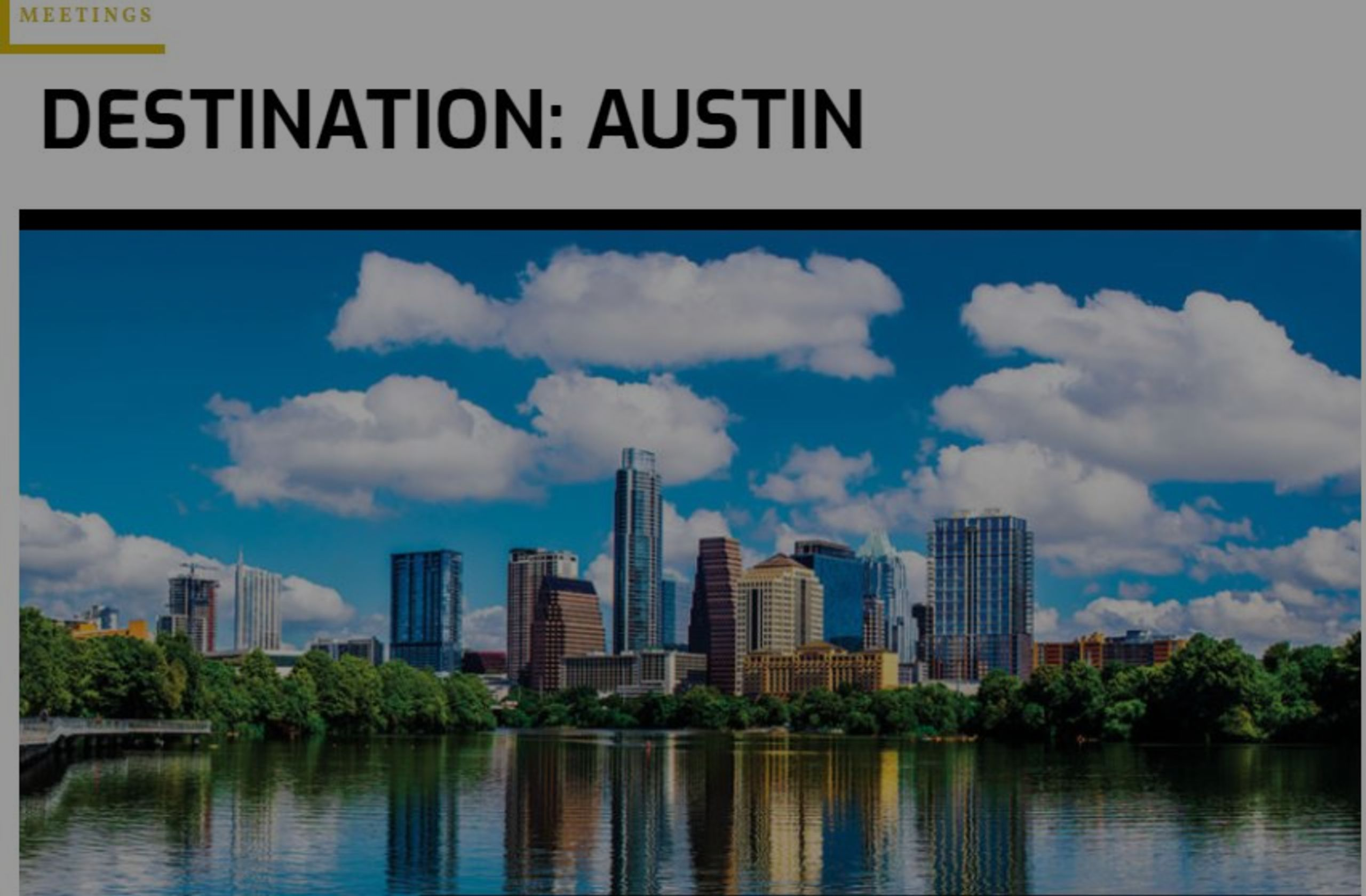 Destination Austin