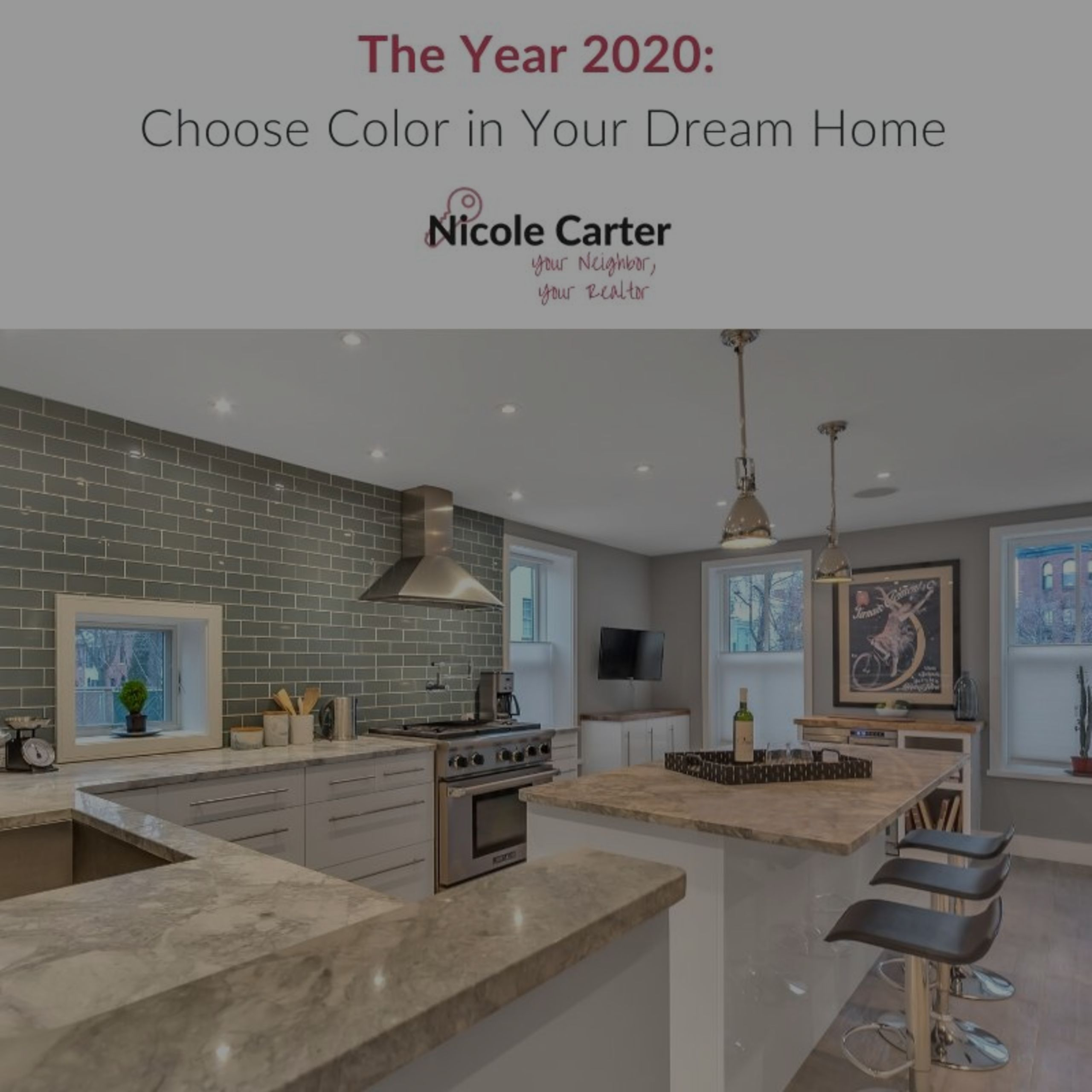 The Year 2020: Choose Color in Your Dream Home