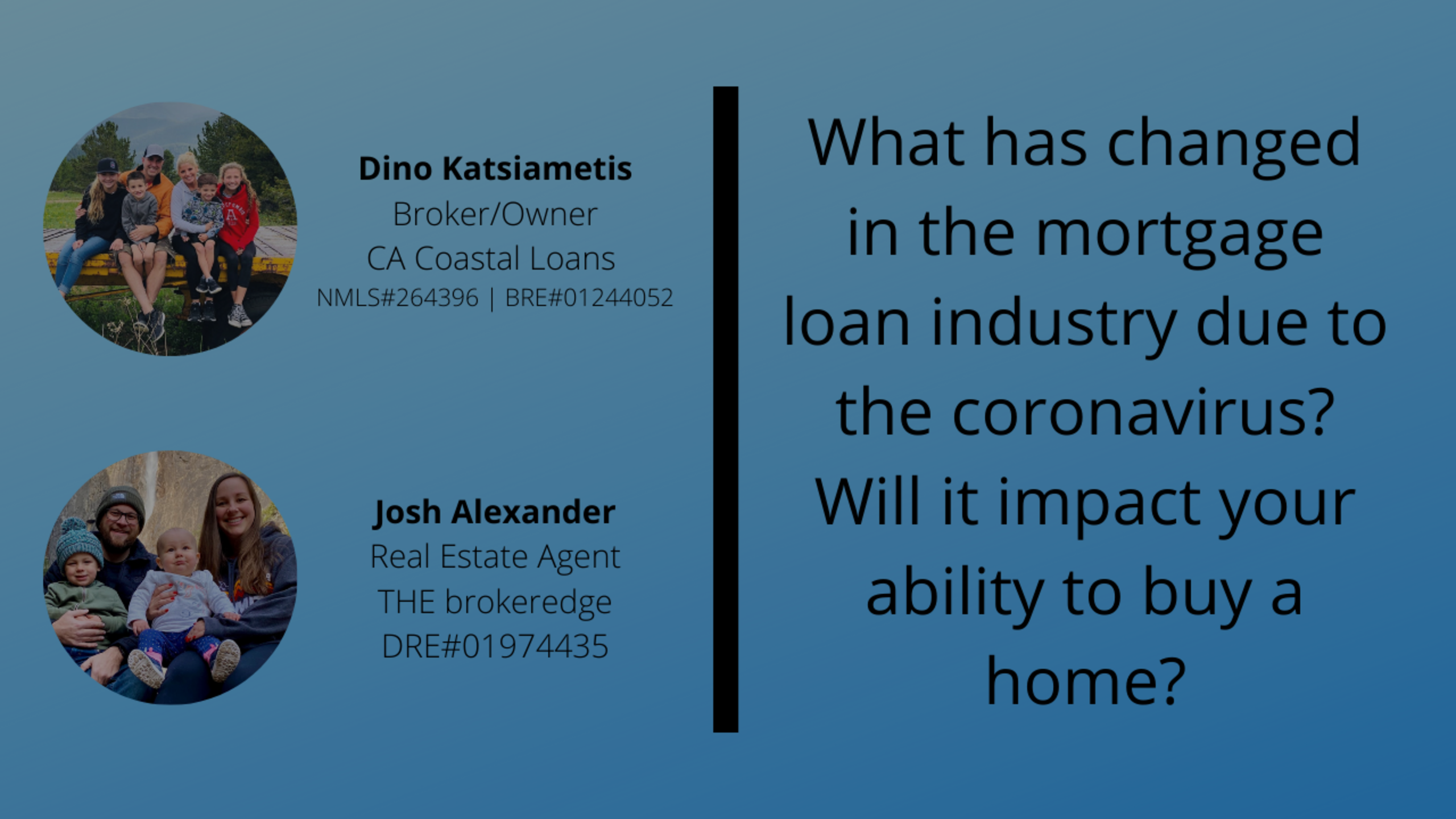 What has changed in the mortgage loan industry due to the coronavirus?