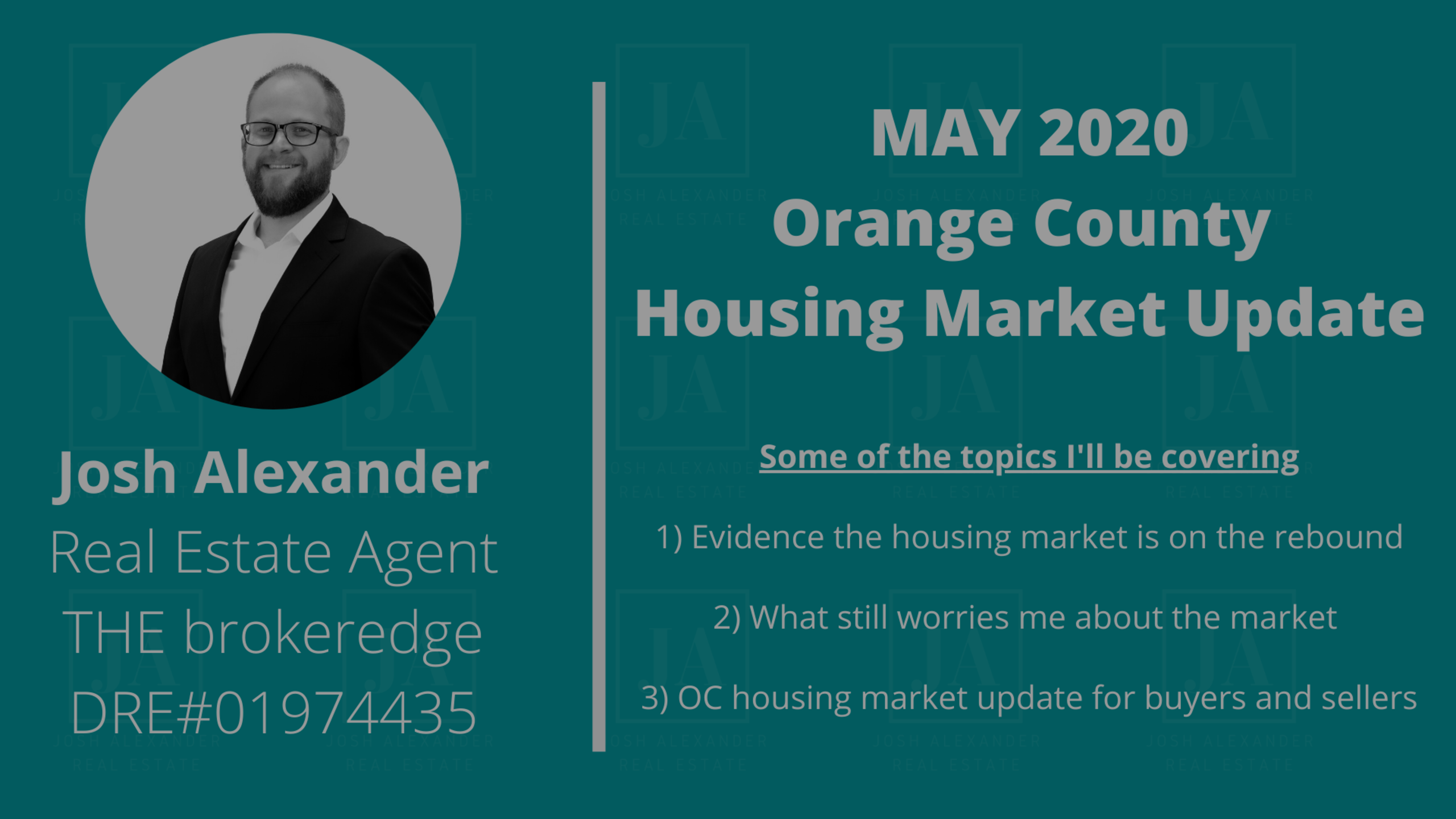 May 2020 Orange County Housing Market Update
