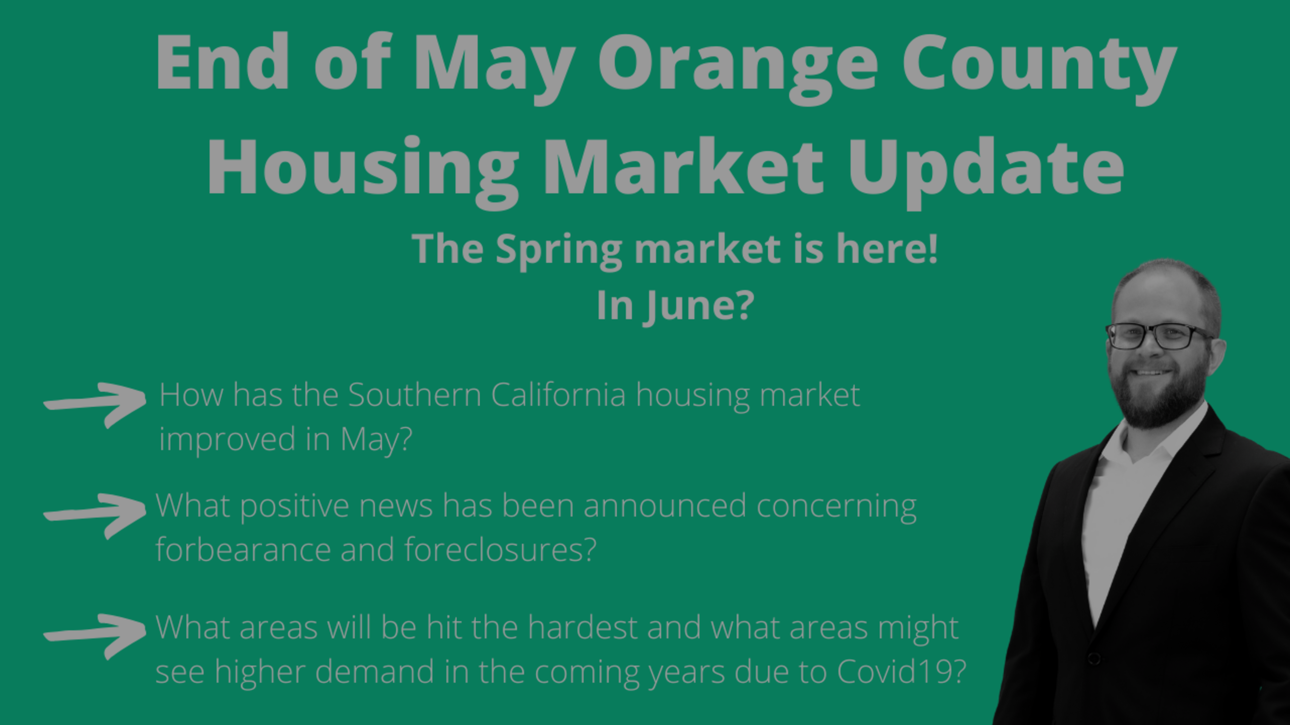 End of May Orange County Housing Market Update