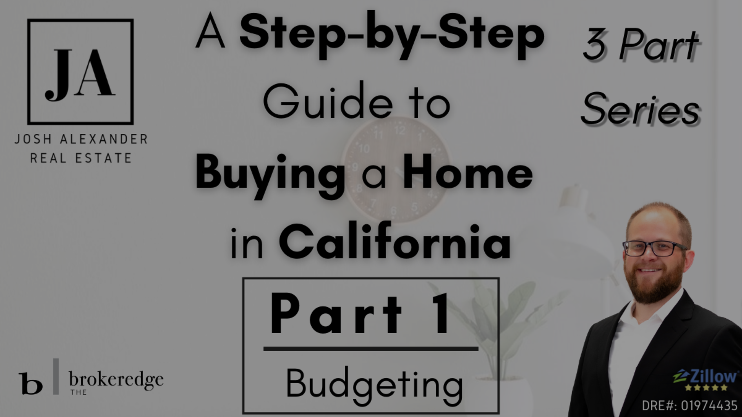 How to Buy a Home in California Part 1 of 3 – Budgeting