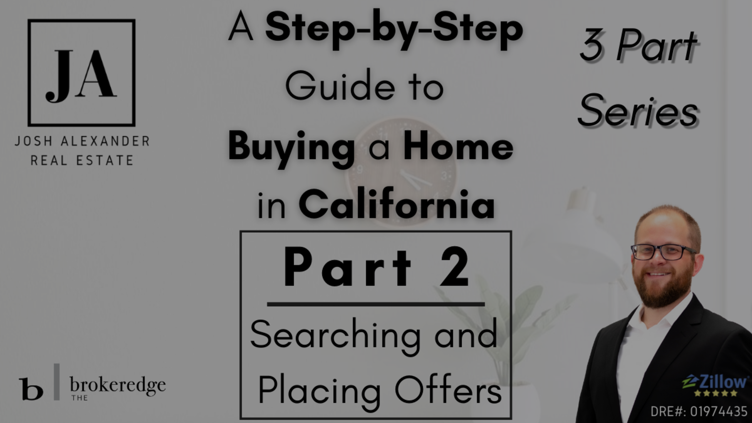 Part 2 – How to Buy a Home in California: Searching and Placing Offers