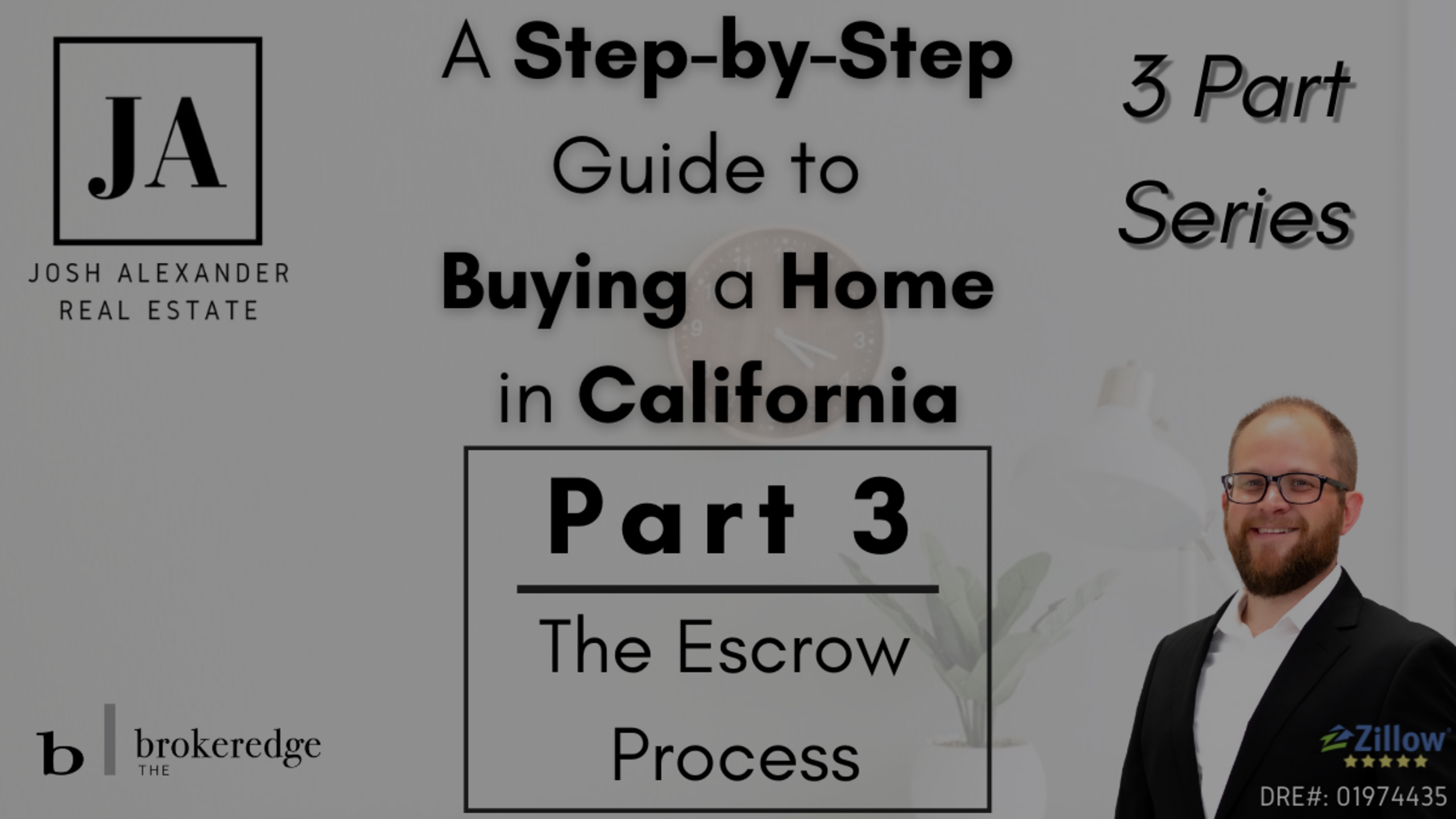 How to Buy a Home in California – Part 3: The Escrow Process