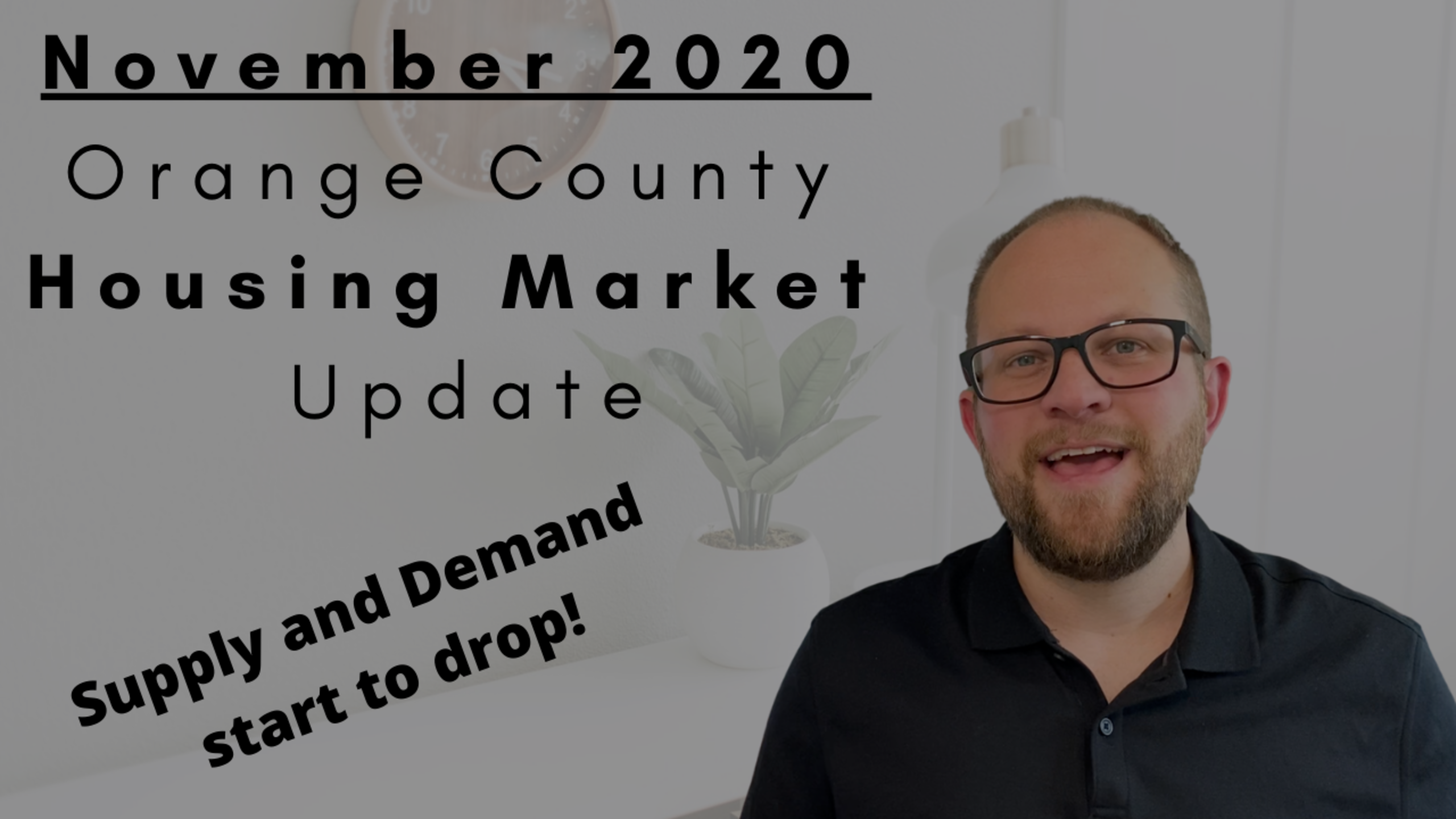 November Orange County Housing Market Update