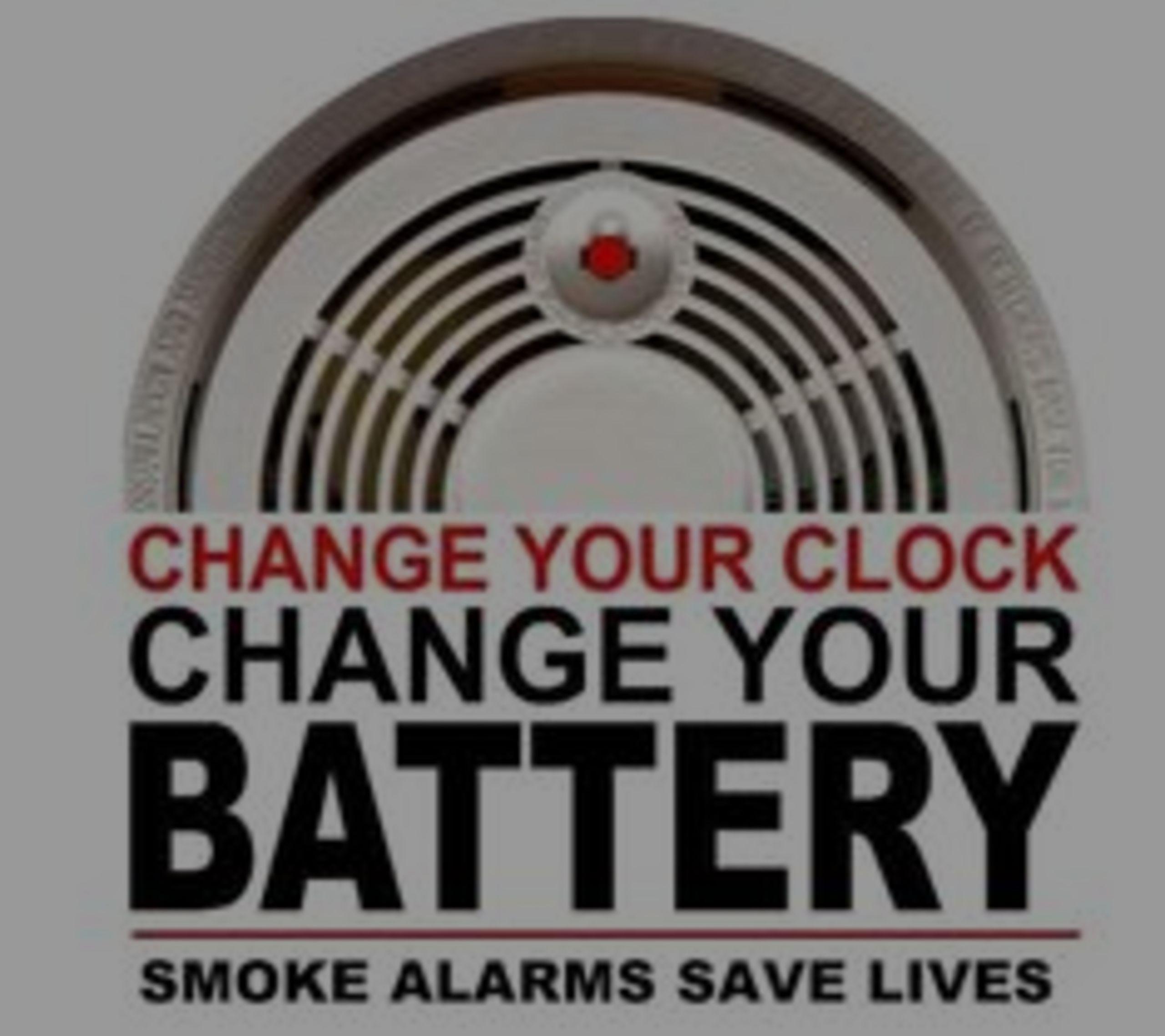 Change Clocks and Smoke Detector Batteries