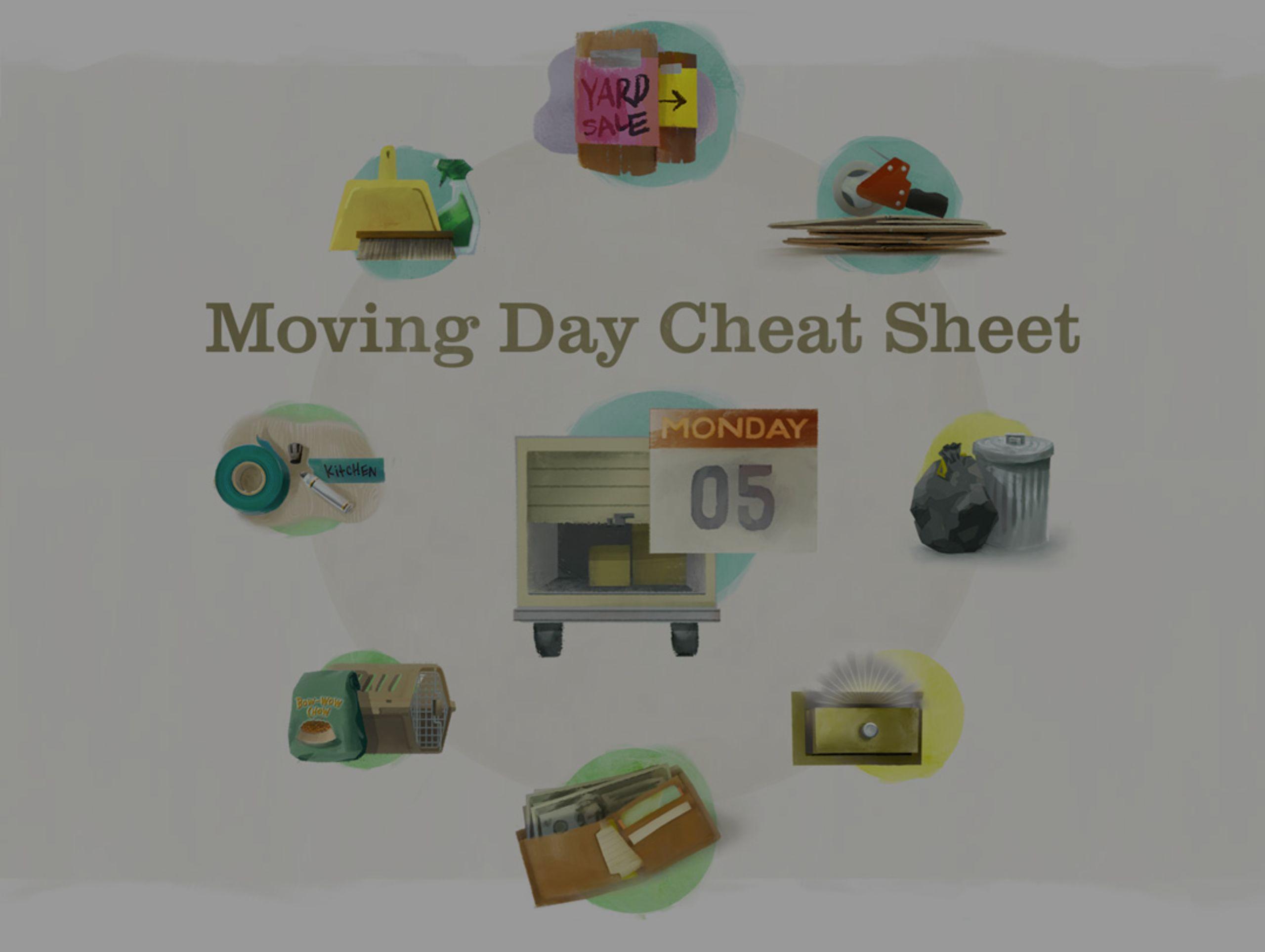 Moving Day Cheat Sheet
