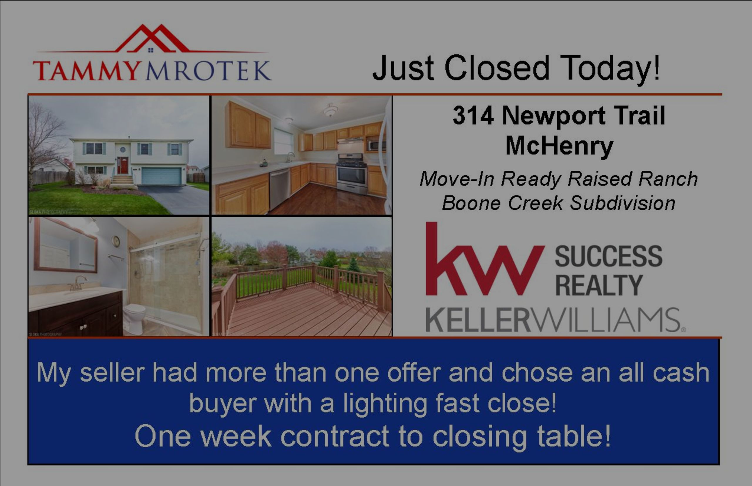 Another Listing Just Closed Today!
